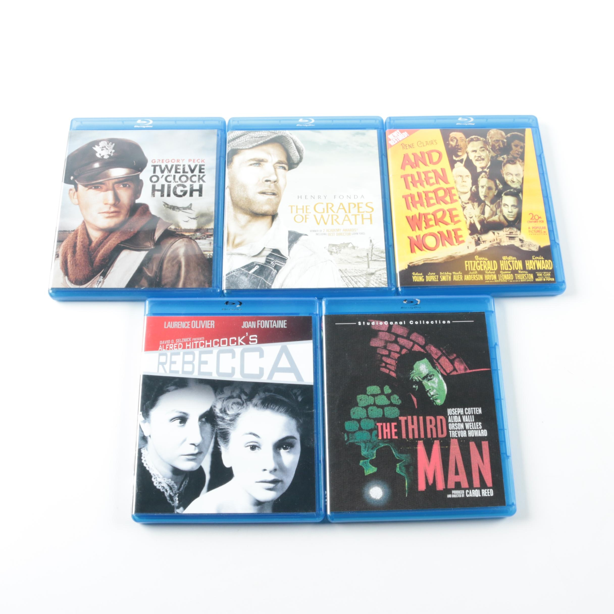 """Classic Cinema on Blu-ray Including """"The Third Man"""" and """"The Grapes of Wrath"""""""