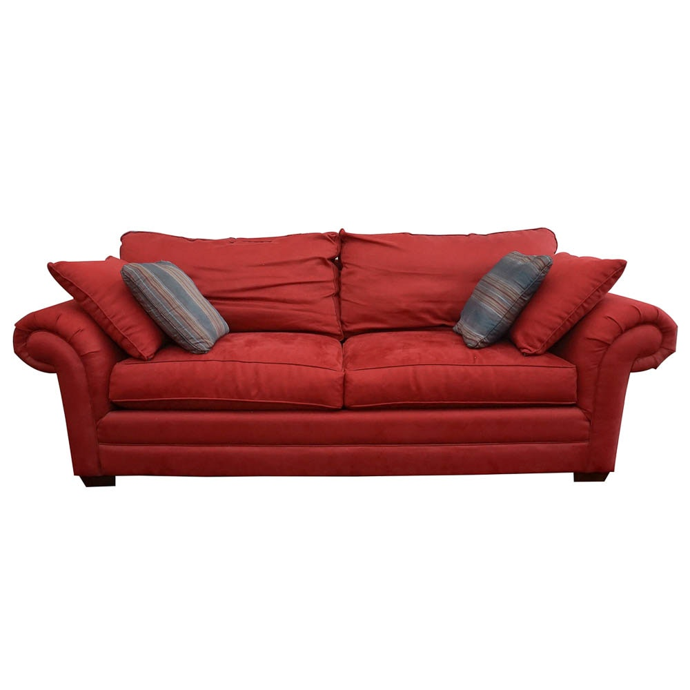 Upholstered Sofa By Bassett Furniture ...