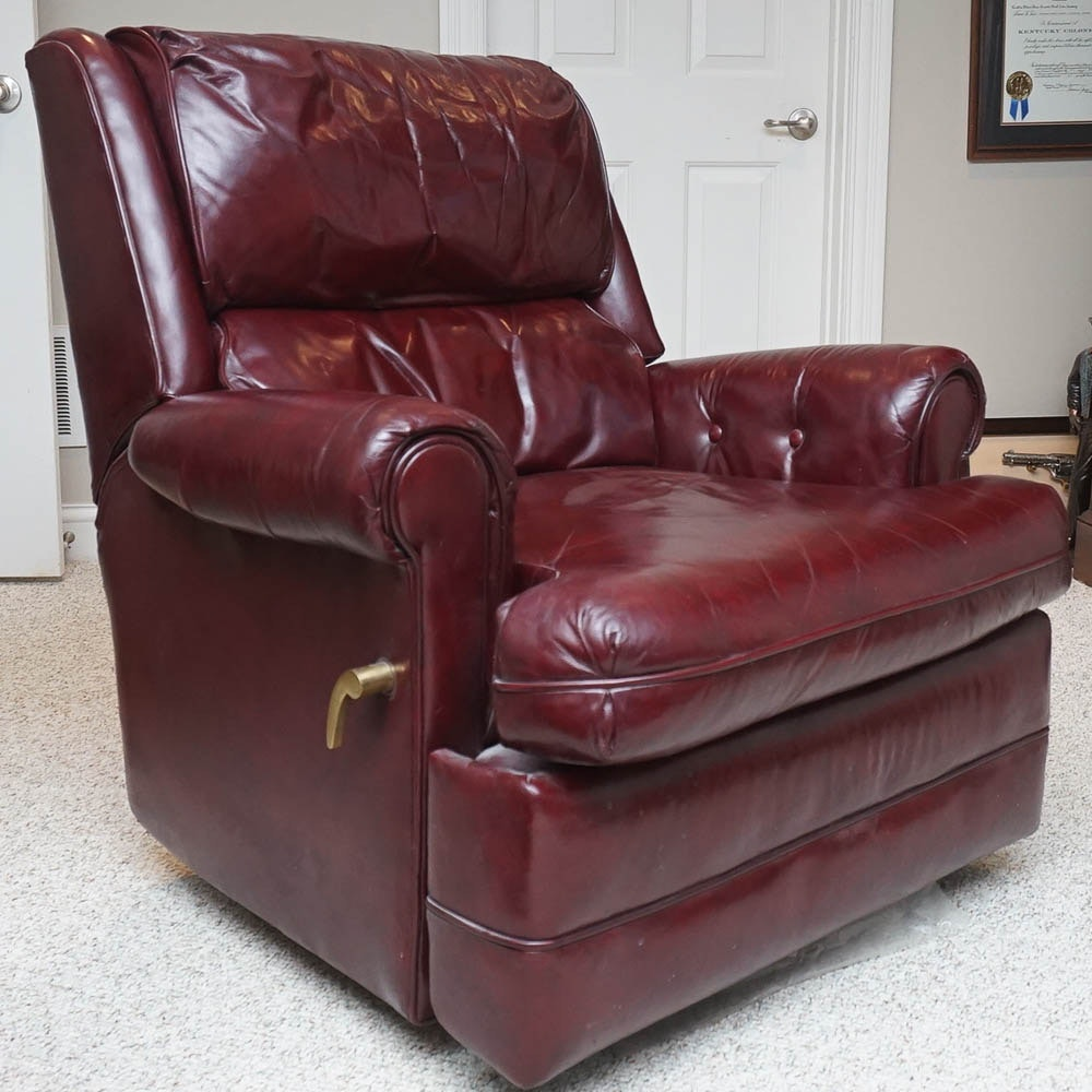 Upholstered Reclining Lounge Chair by Century Furniture