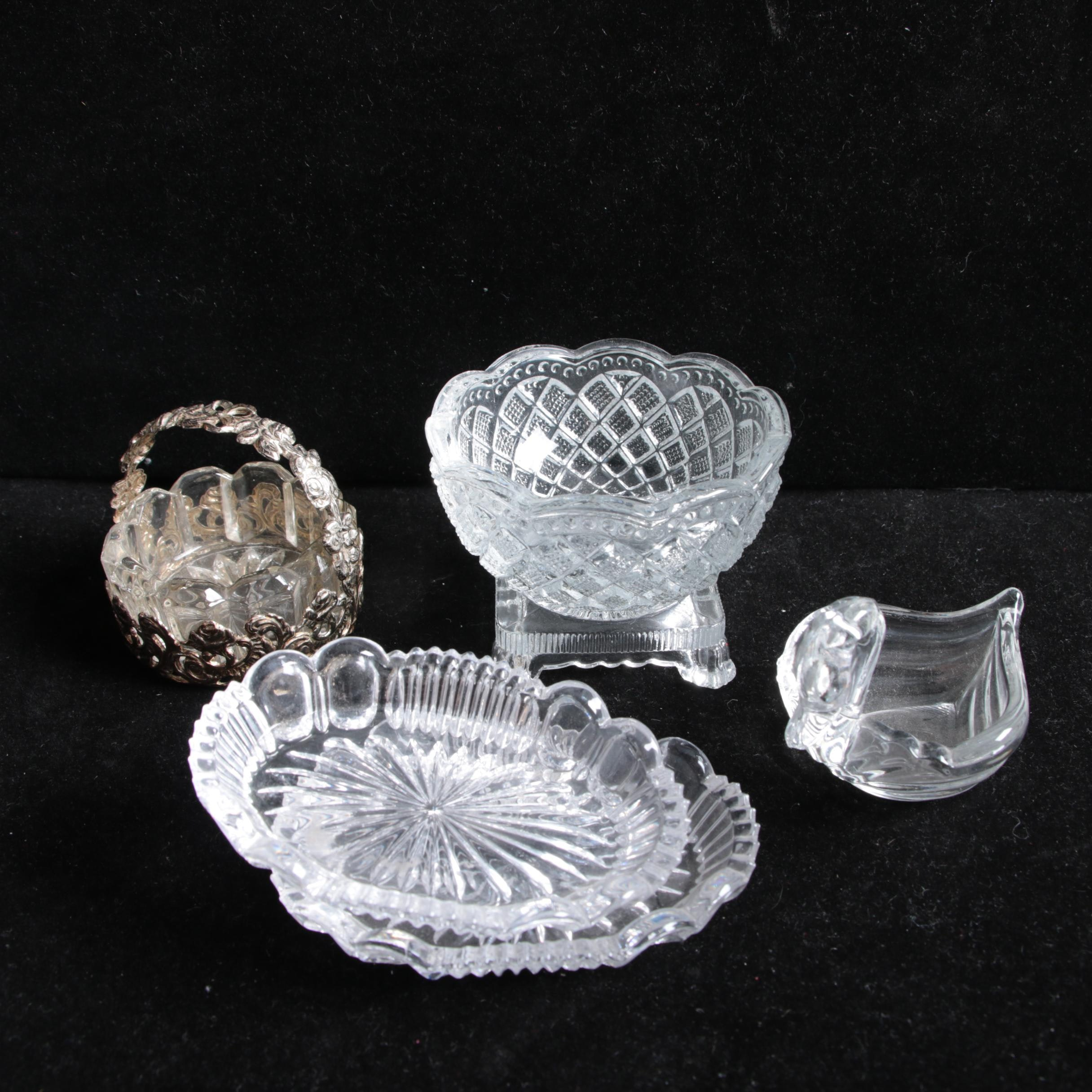 Crystal and Glass Dishes and Compotes