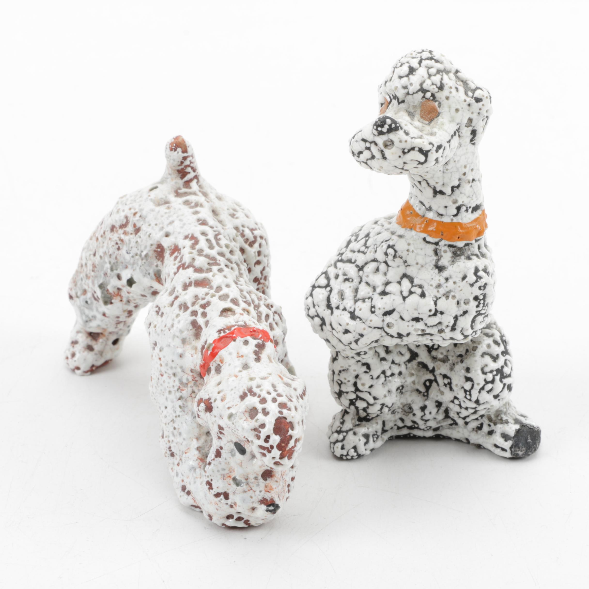 Ceramic Dog Figurines