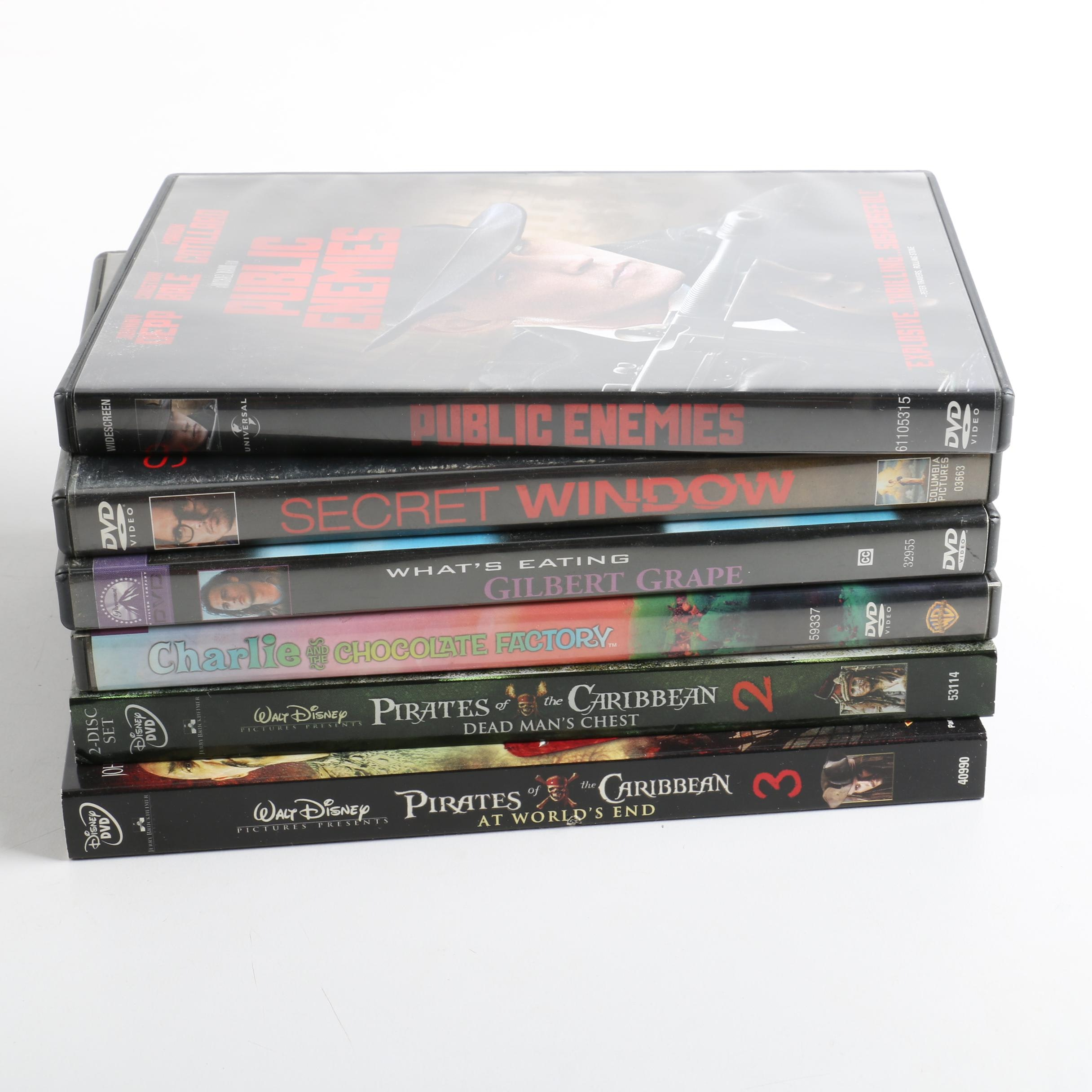 Johnny Depp DVD Collection