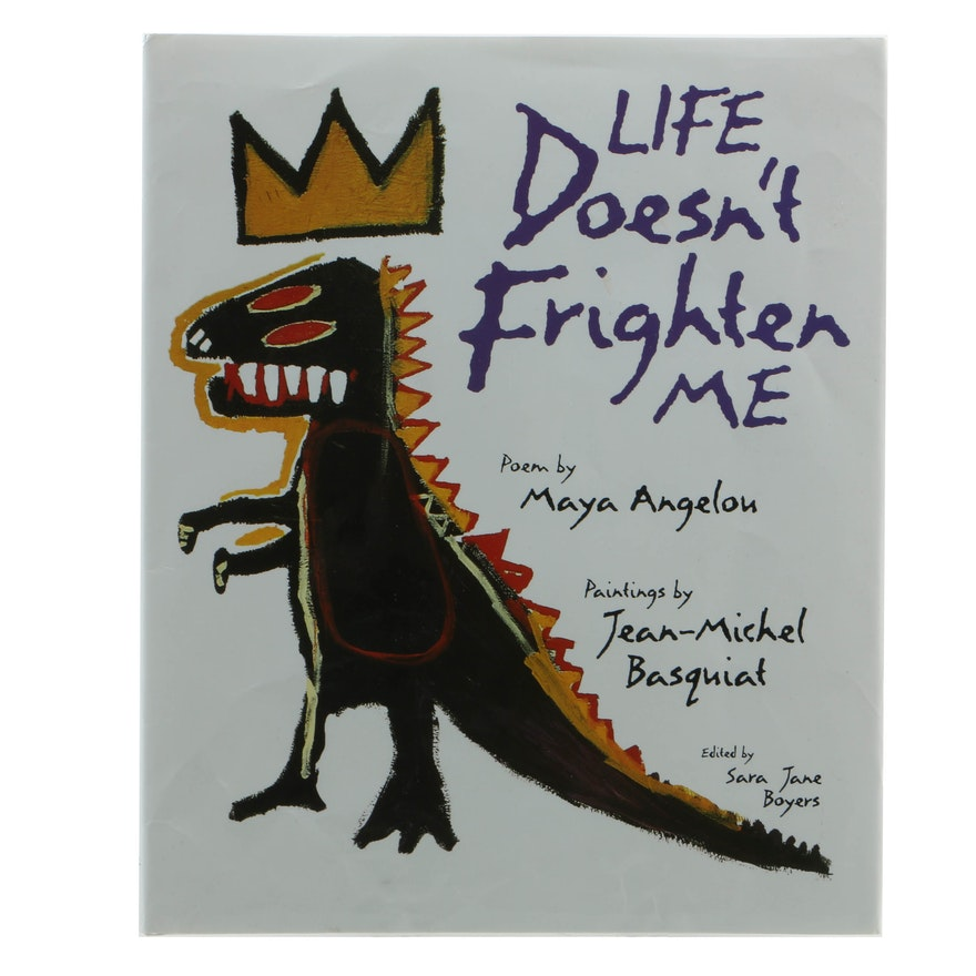 """""""Life Doesn't Frighten Me"""" By Maya Angelou, Drawings By"""