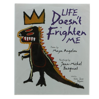 """Life Doesn't Frighten Me"" by Maya Angelou, Drawings by Jean-Michel Basquiat"