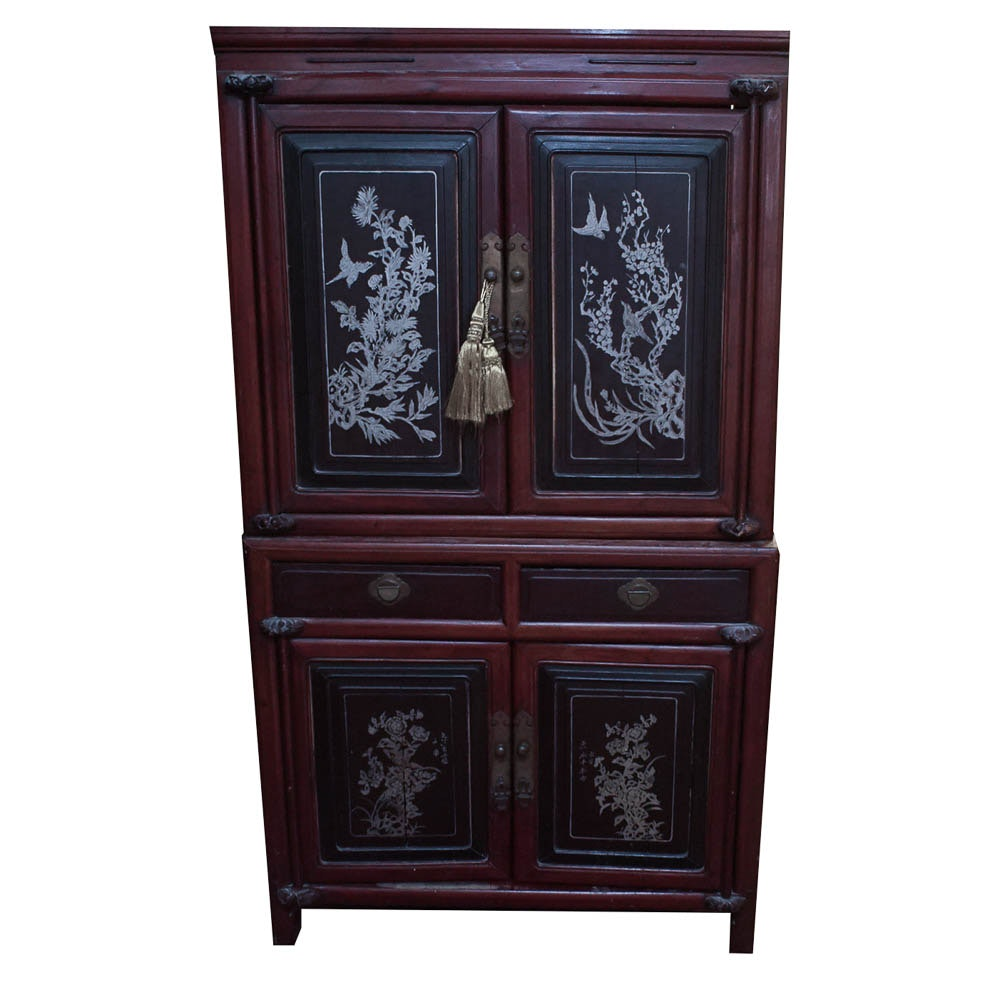 Antique Chinese Inspired Cabinet