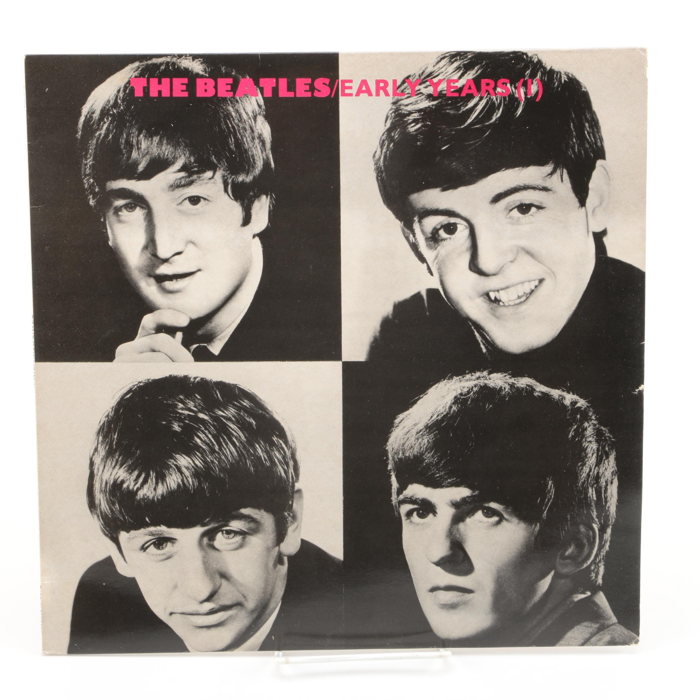 "The Beatles ""Early Years (1)"" UK Pressing LP Record"