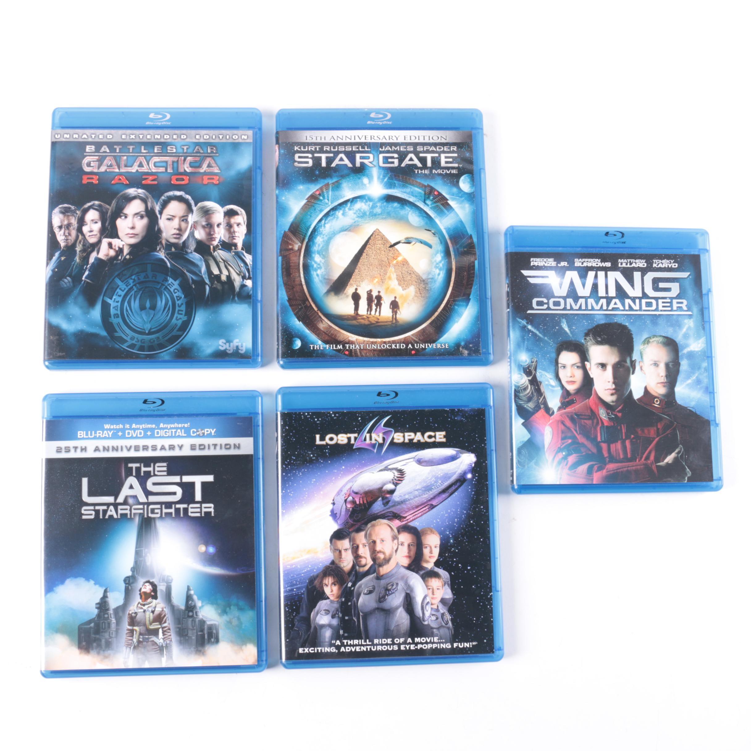 Science Fiction Films on Blu-Ray