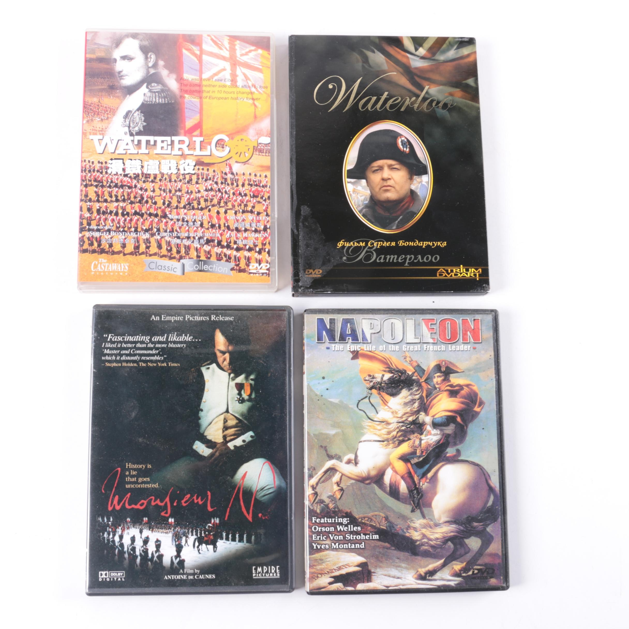 Napoleon Themed Film DVD Collection