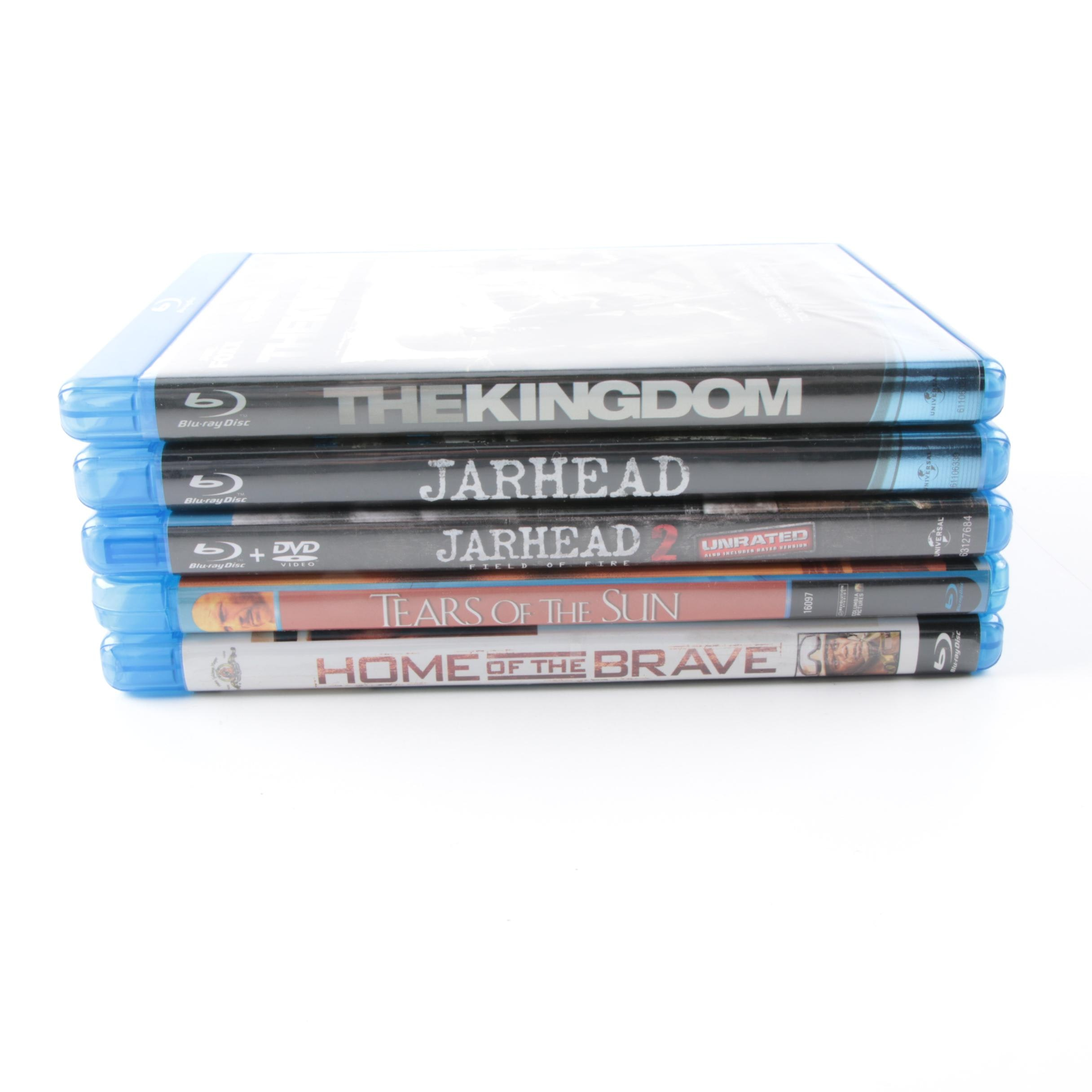 """Modern War Films Blu-Ray Collection Including """"The Kingdom"""" and """"Jarhead"""""""