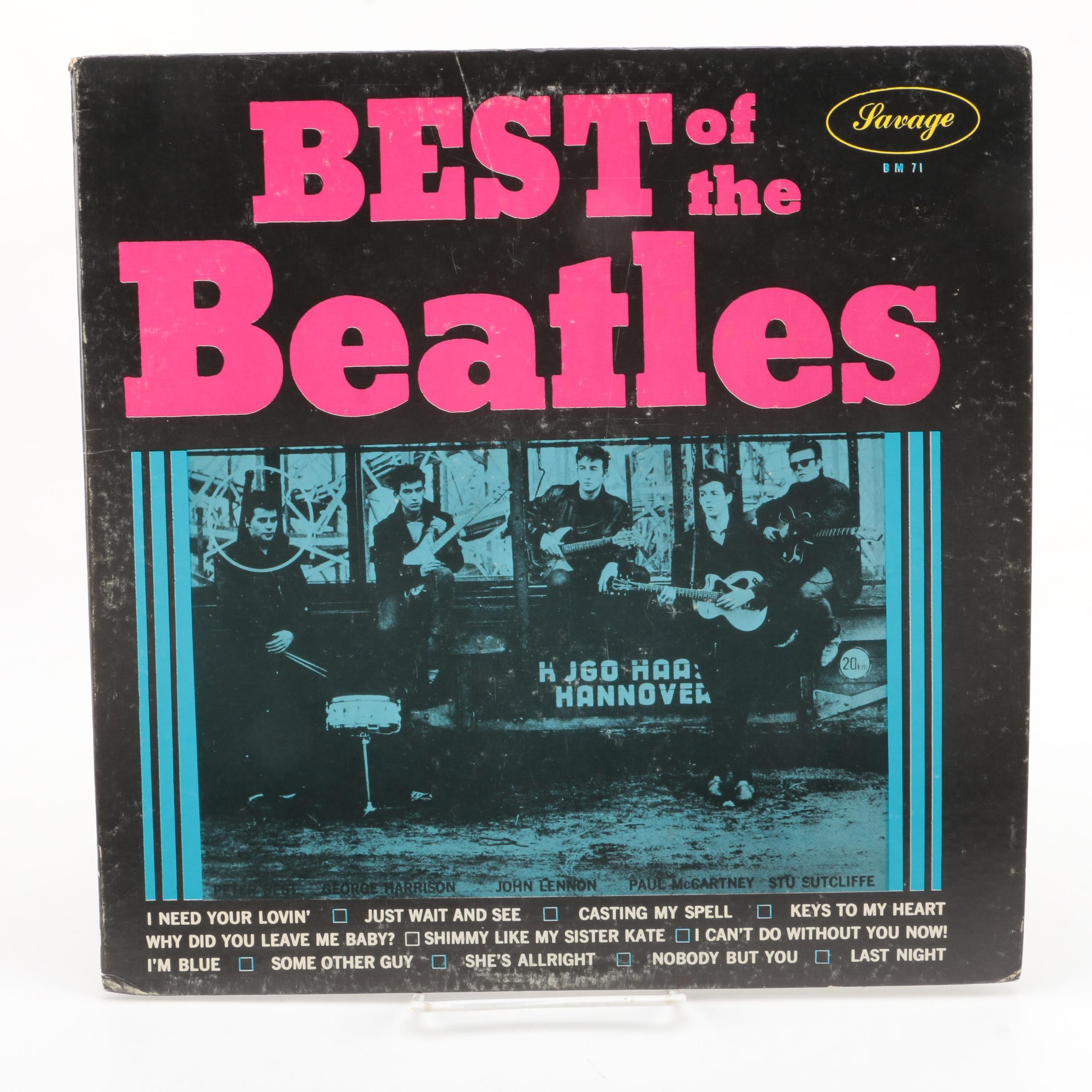 "Pete Best ""Best Of The Beatles"" Original US Mono Pressing LP Record"