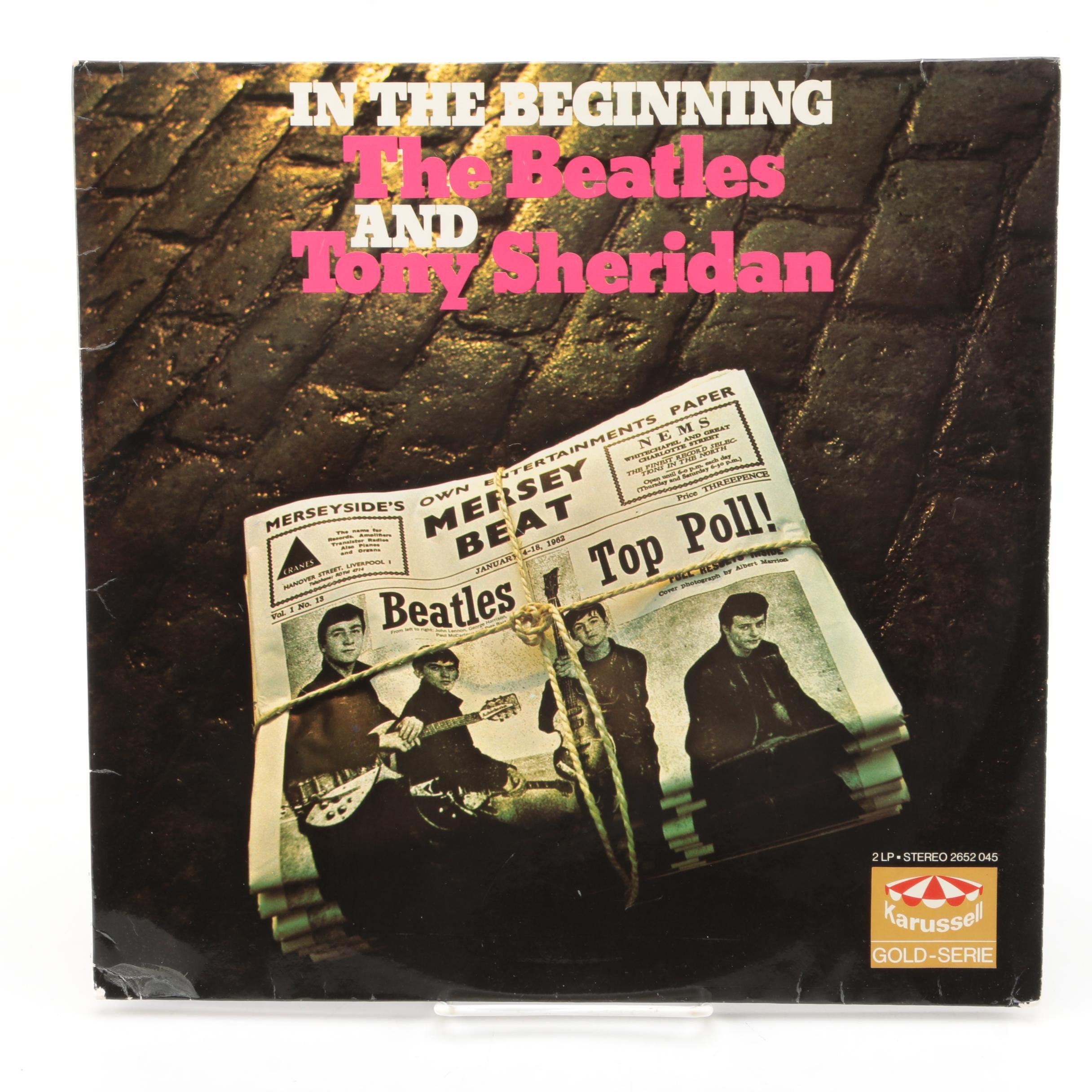 "The Beatles and Tony Sheridan ""In The Beginning"" Stereo German Pressing LP"