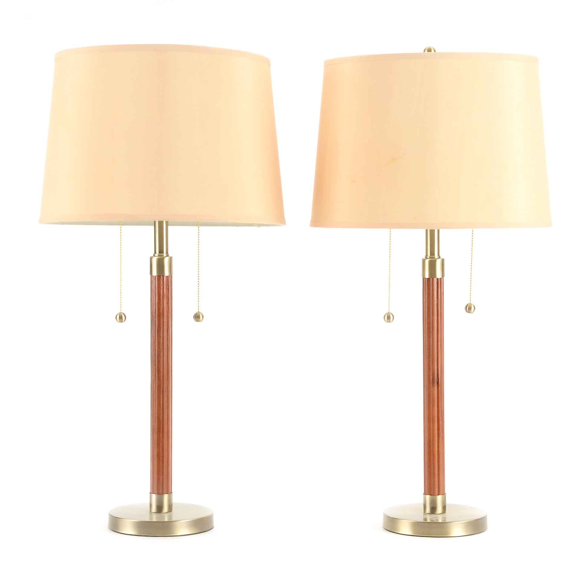 Pacific Coast Lighting Table Lamps.