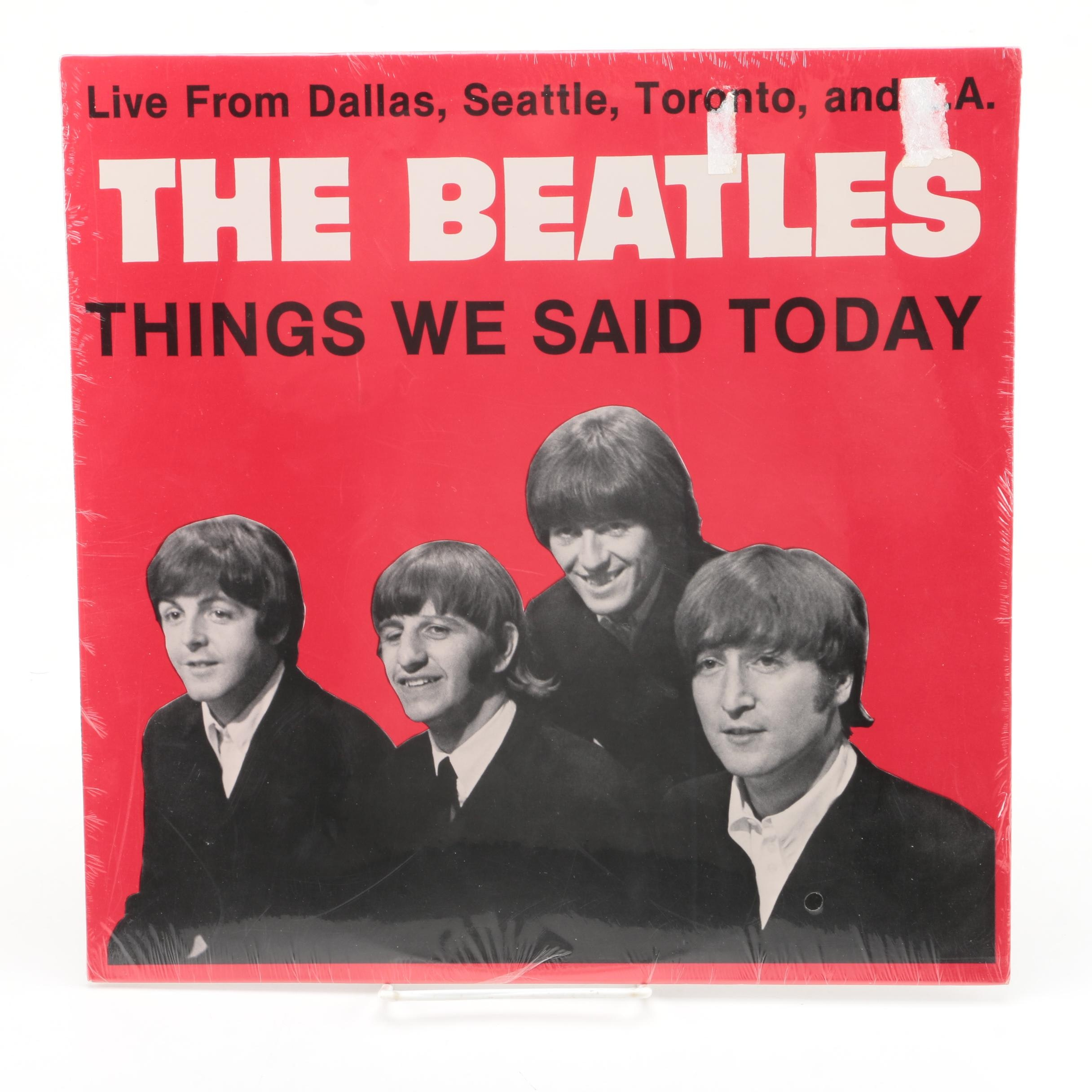 "The Beatles ""Things We Said Today"" Sealed LP Record"