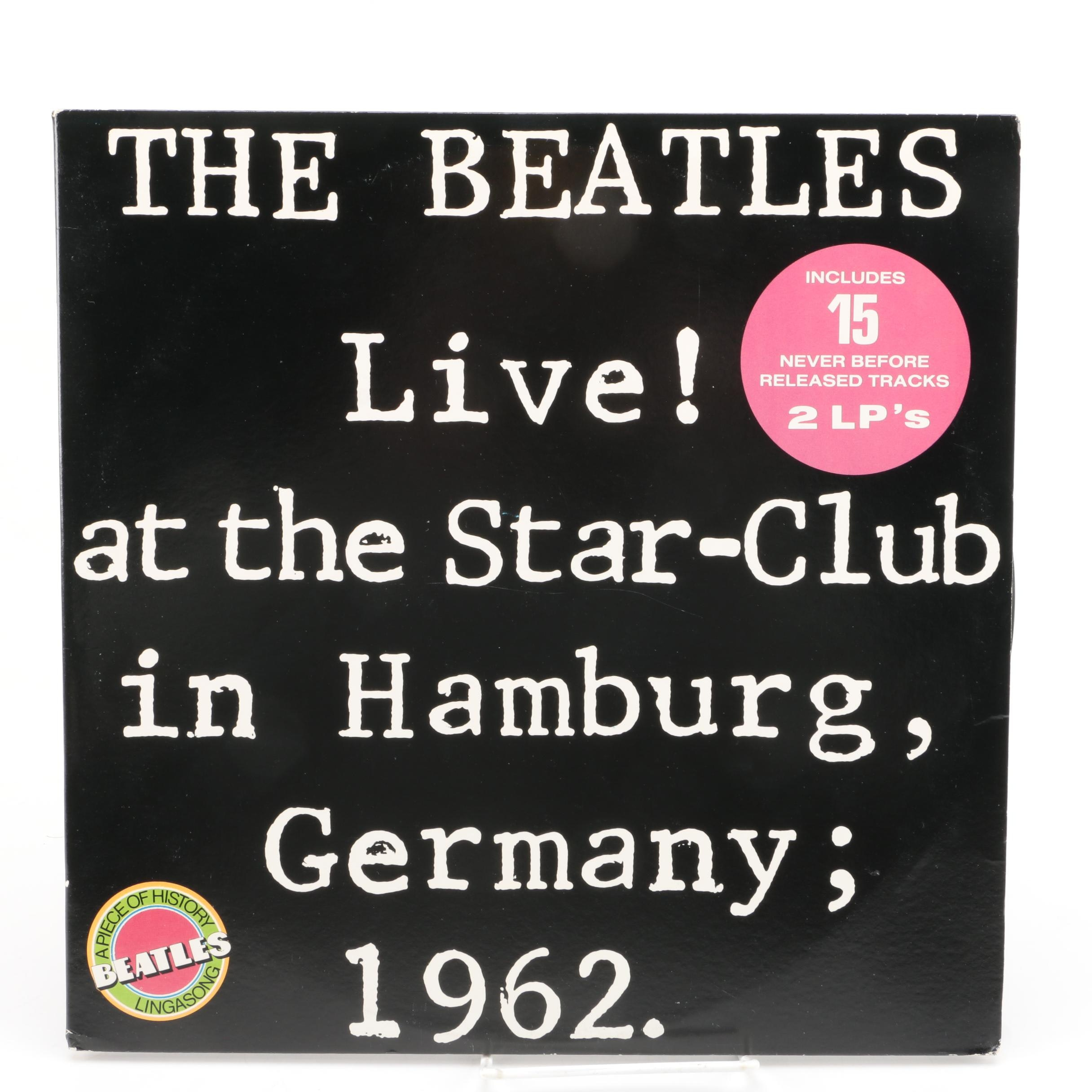 "The Beatles ""Live! At The Star Club In Hamburg, Germany; 1962"" Double LP"