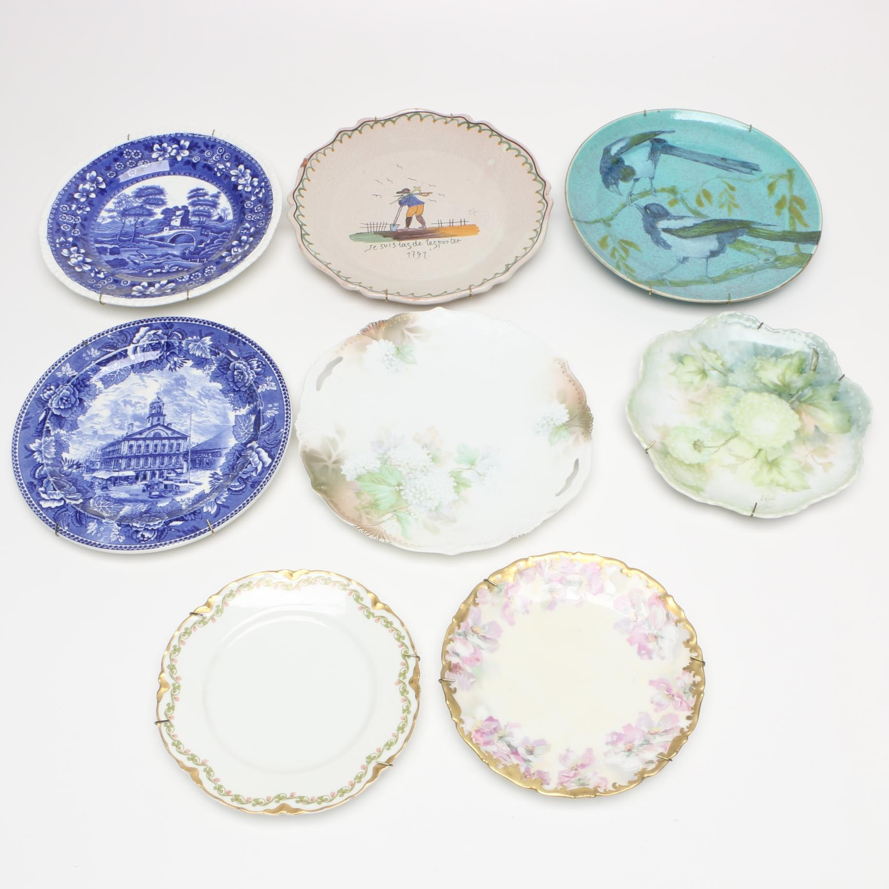 Decorative Plates Including RS Prussia