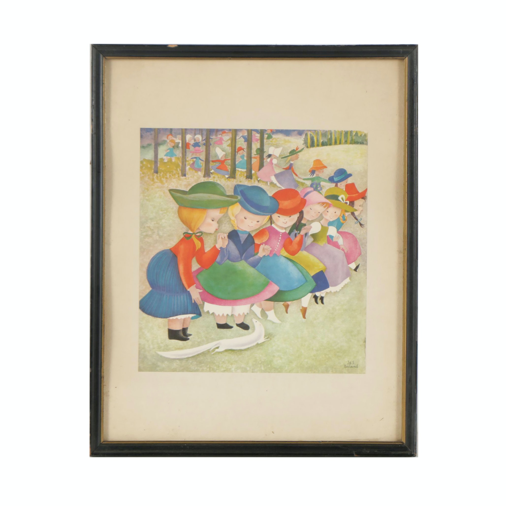 J & S Boland Offset Lithograph