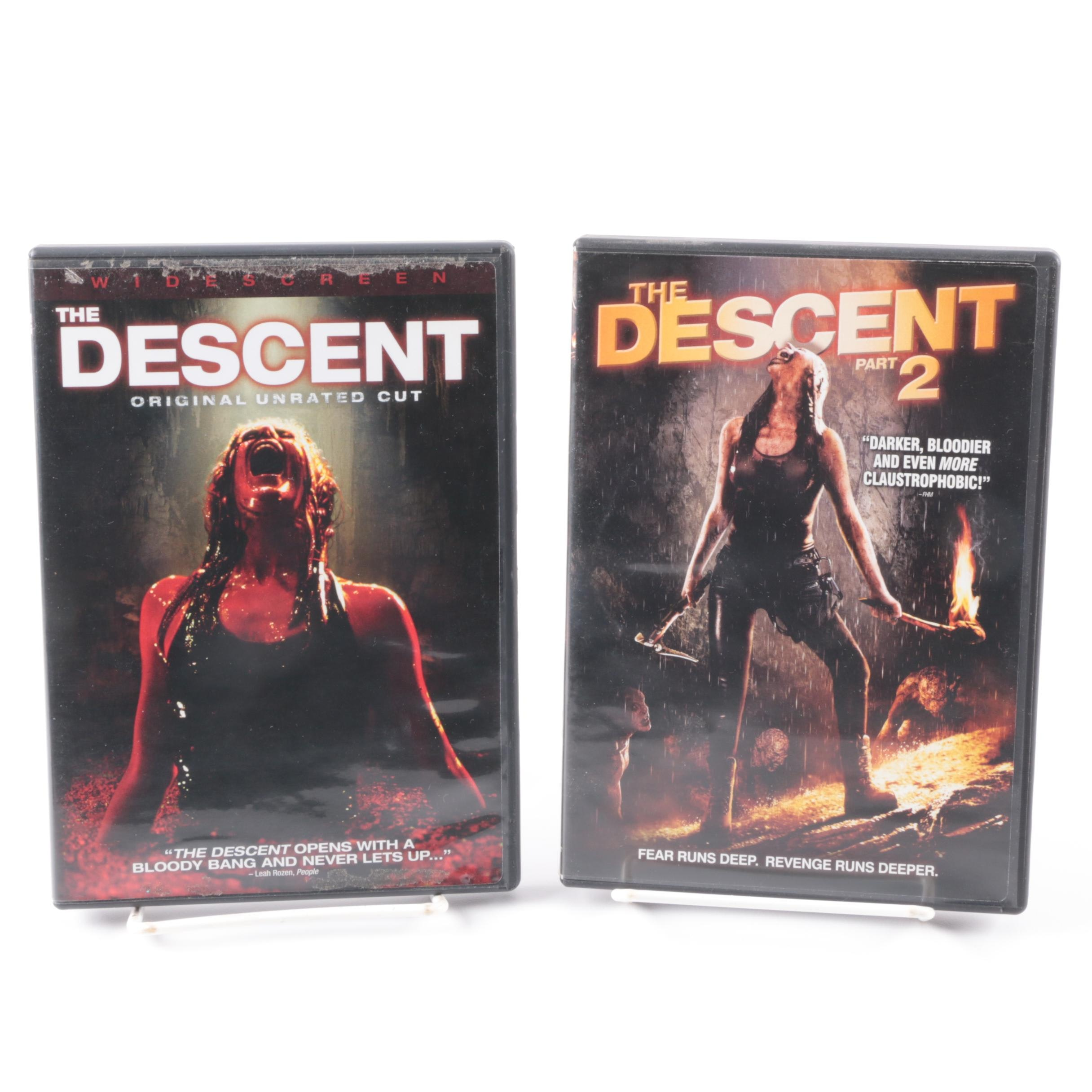 """""""The Descent"""" Film Series DVD Collection"""