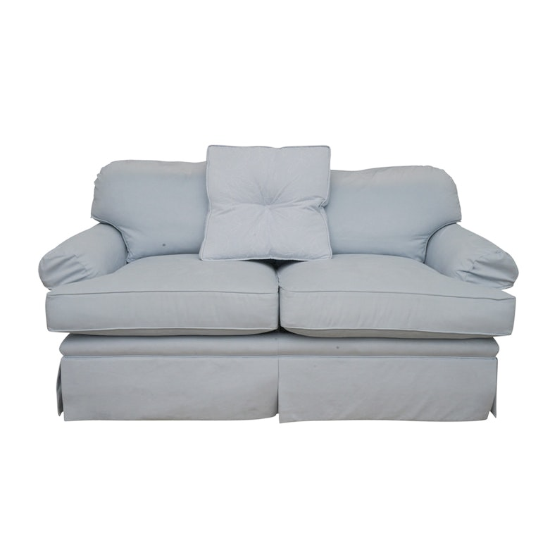 Upholstered Loveseat by Kravet