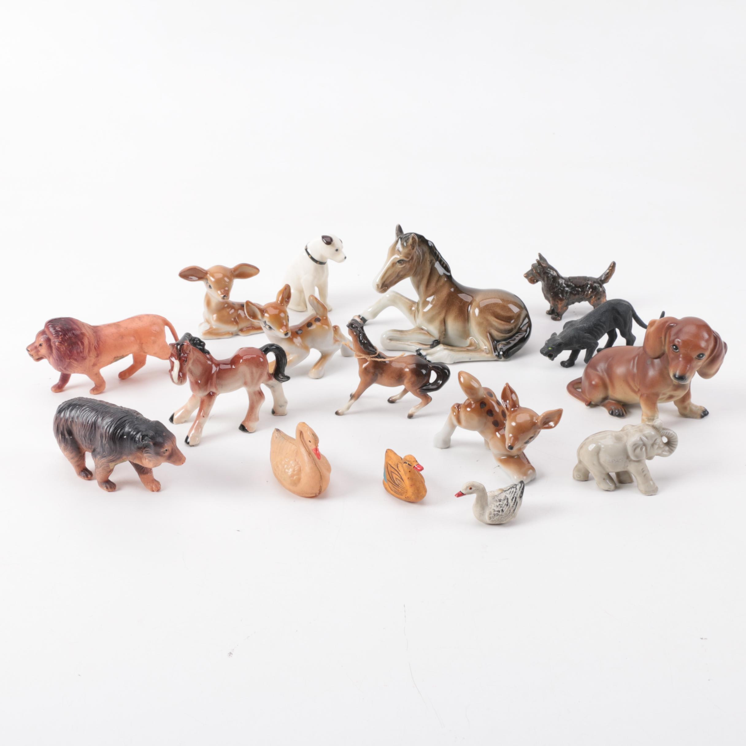 Vintage Japanese Animal Figurines