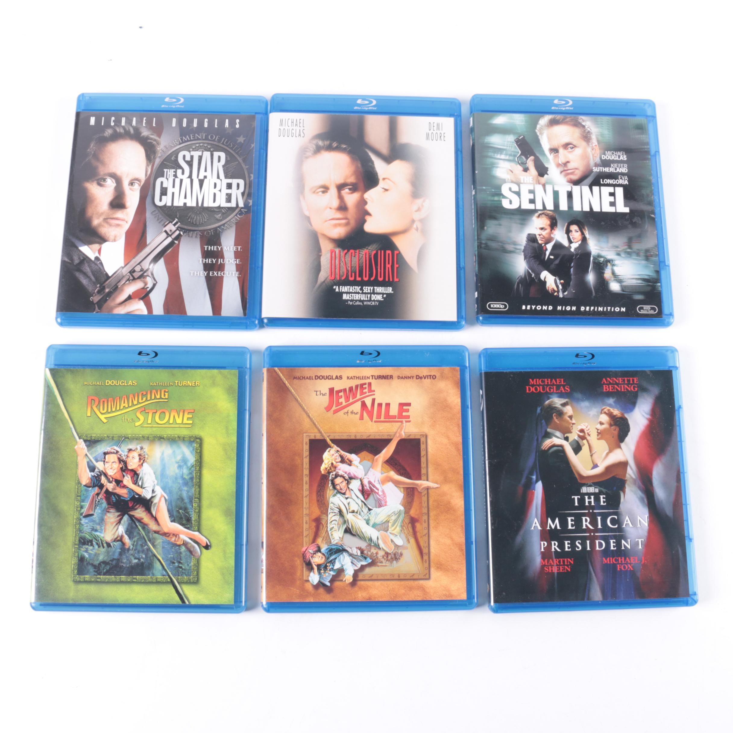 Michael Douglas Feature Films Blu-ray Collection