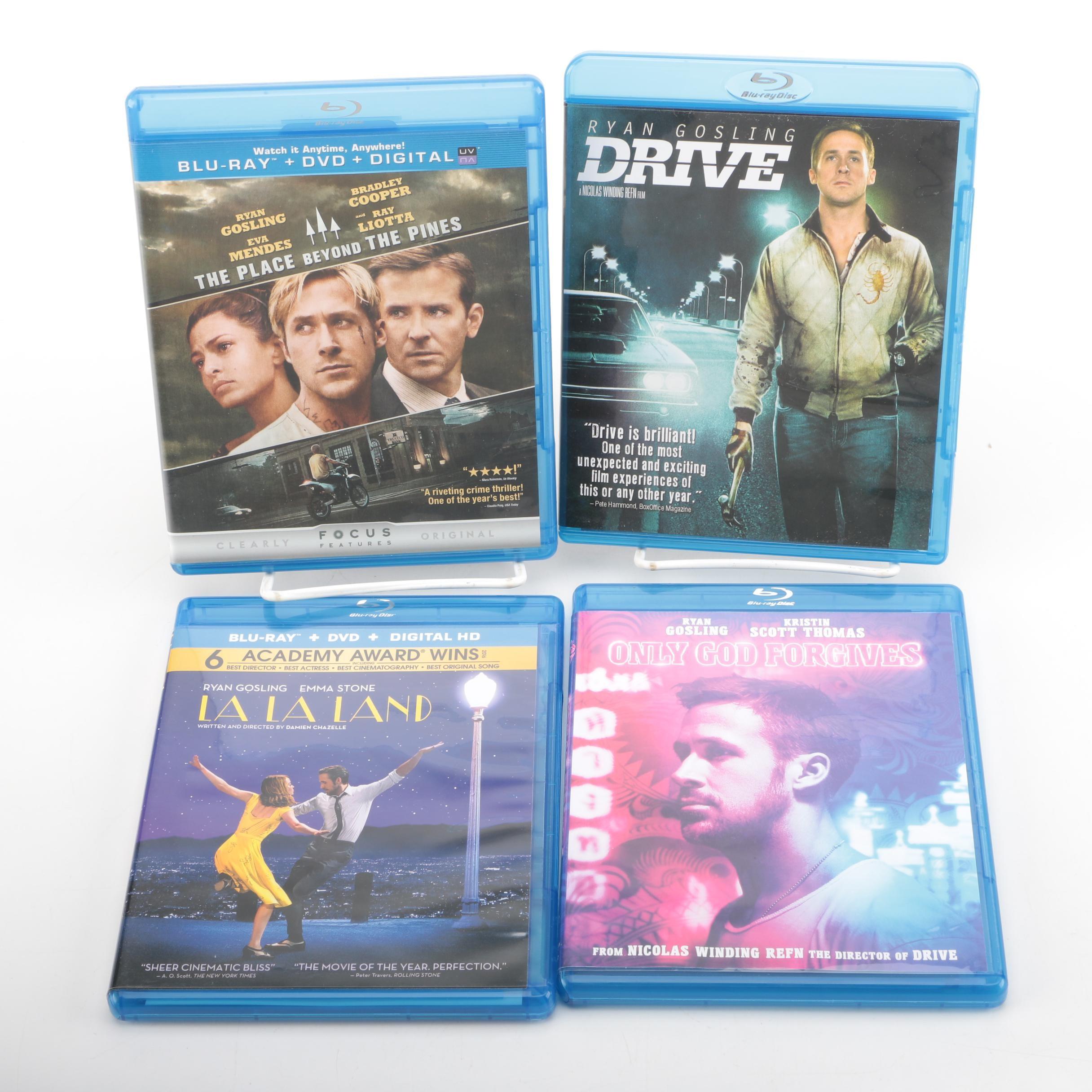 "Ryan Gosling Feature Film Blu-rays Including ""Drive"" and ""La La Land"""