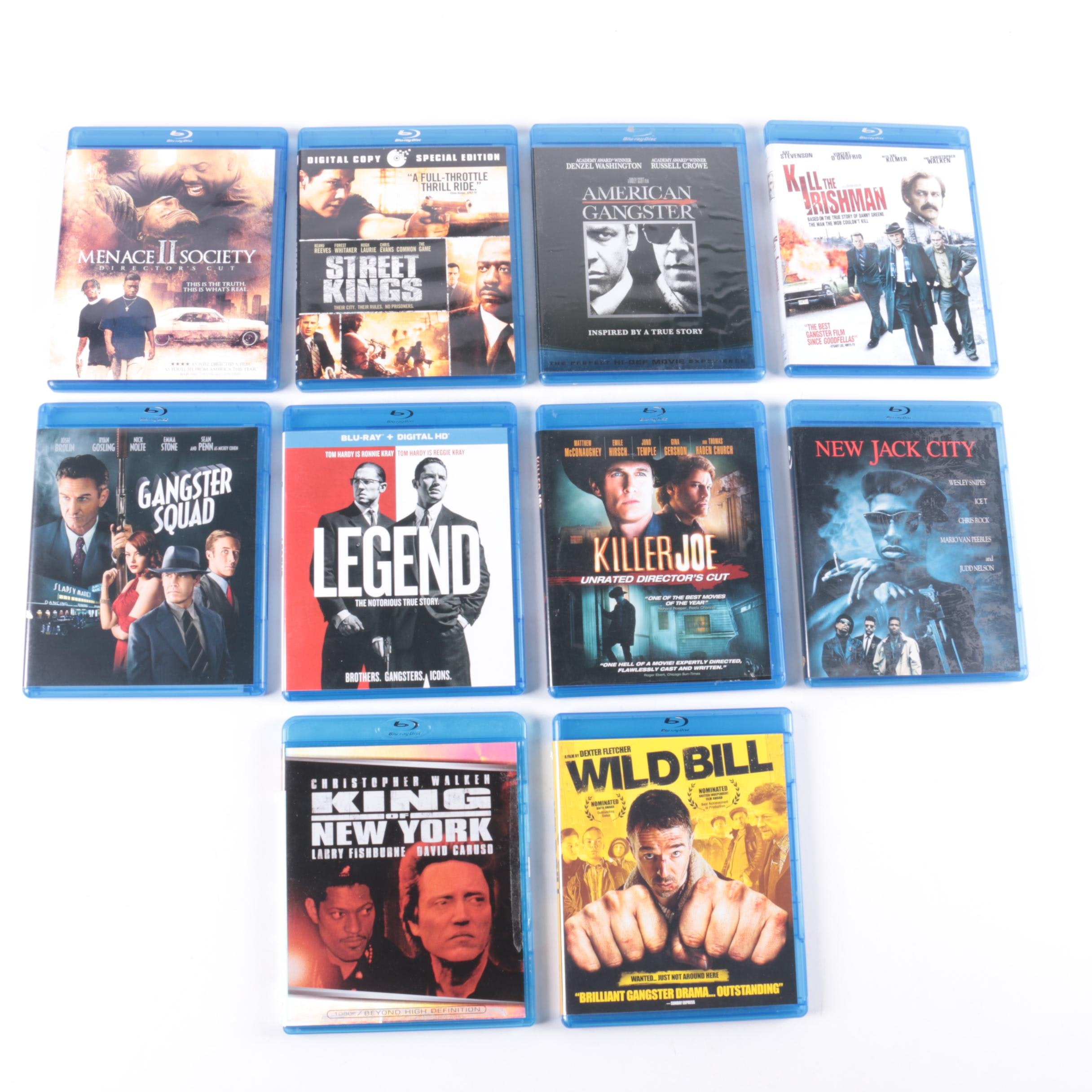 """Gangster Warfare Films Blu-rays Including """"King of New York"""" and """"New Jack City"""""""