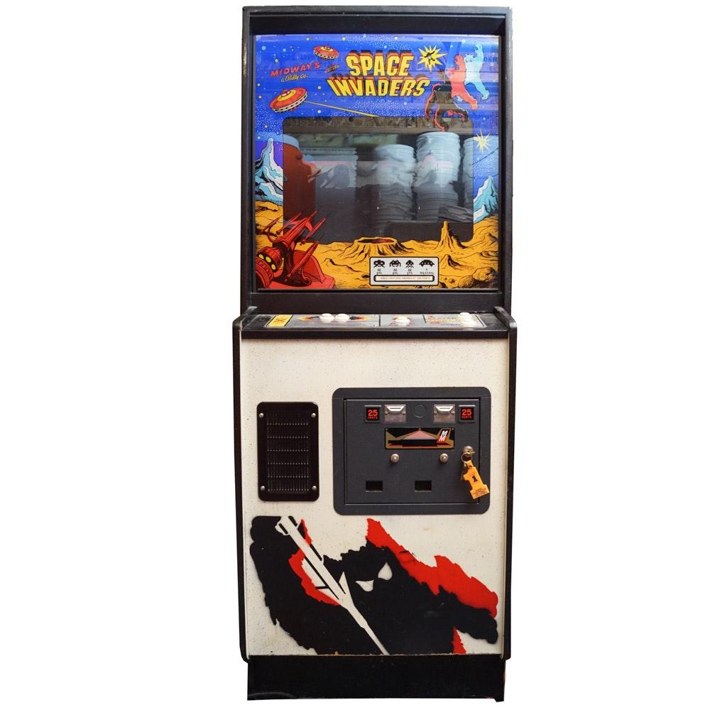 "Vintage Midway ""Space Invaders"" Arcade Game"