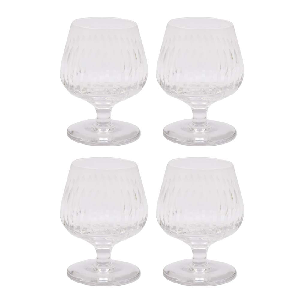Gucci Cut Crystal Brandy Snifters
