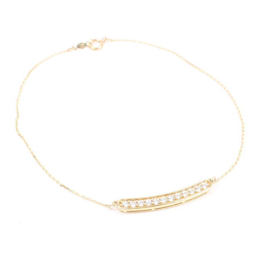 sliding and i avital anchor anklet co bracelet jewelry ankle link ball gold white
