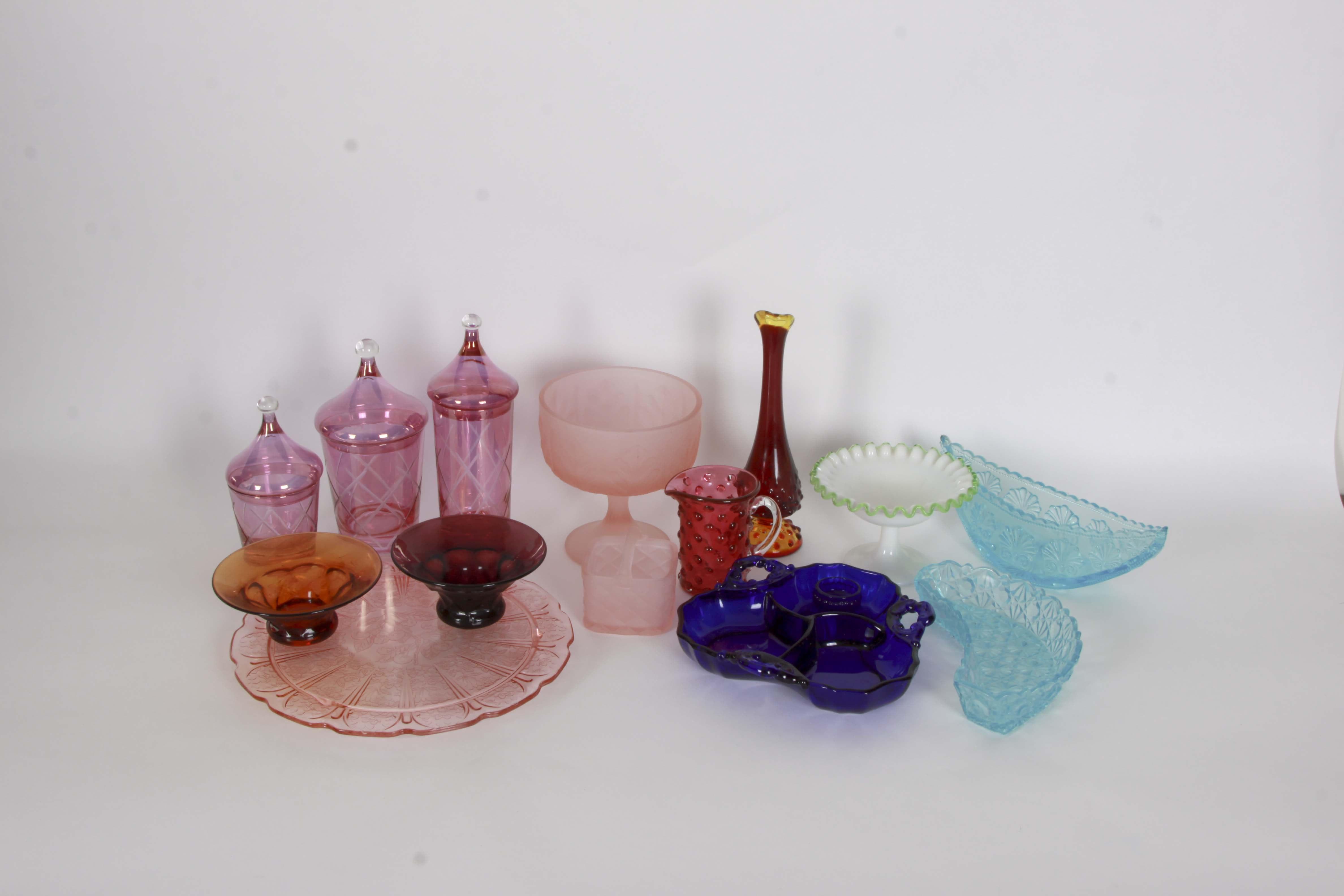 Vintage Glass Decor Assortment