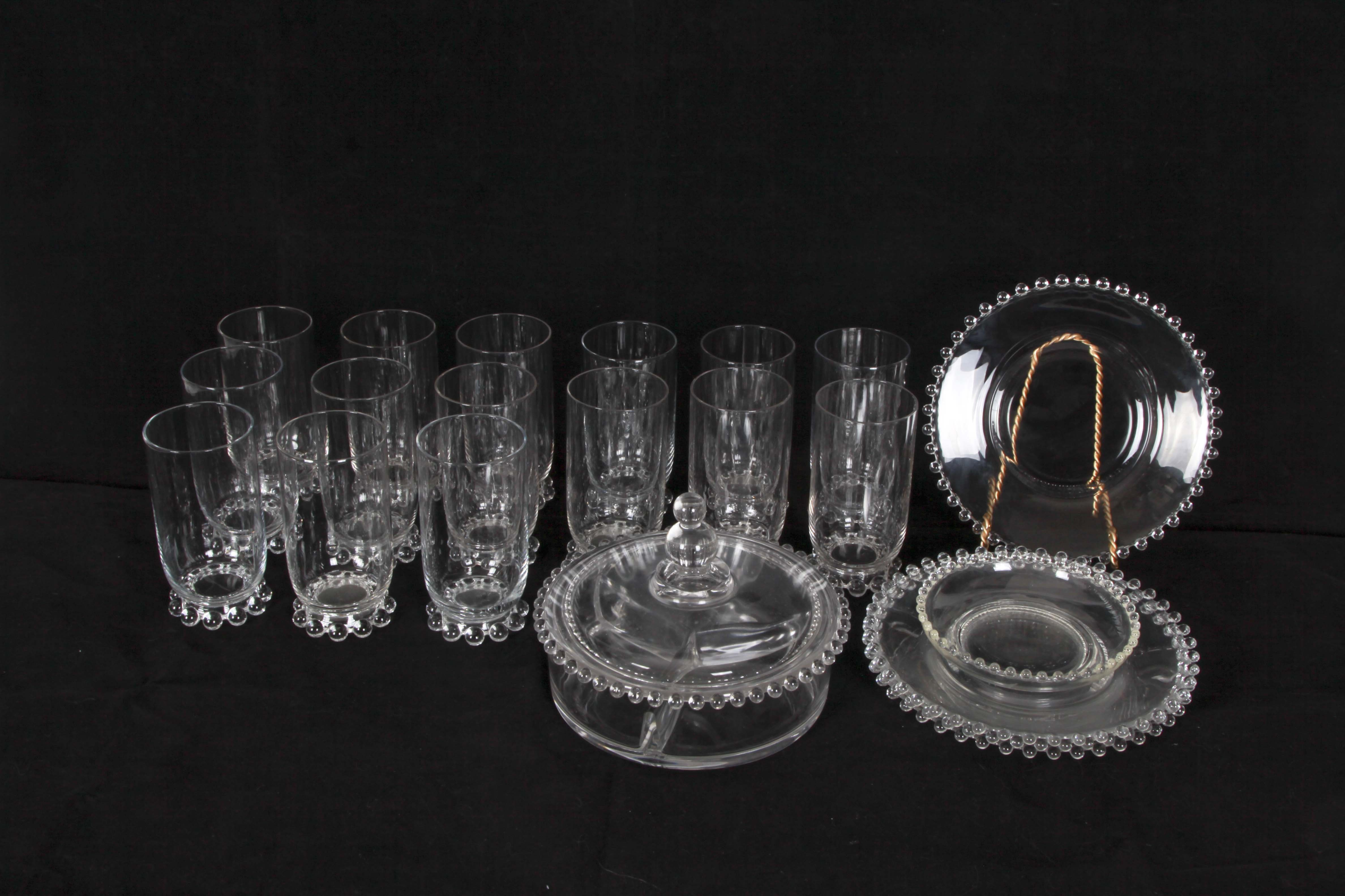 "Imperial Glass-Ohio ""Candlewick"" Style Glassware"