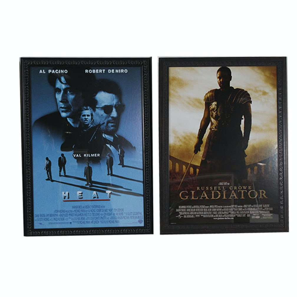 Framed Movie Poster Collection