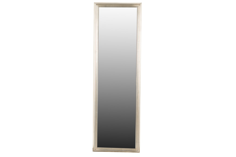 Wood Framed Rectangular Wall Mirror