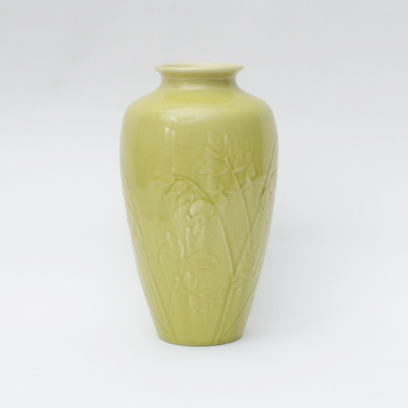 "1948 Rookwood ""Bleeding Heart"" Pottery Vase"