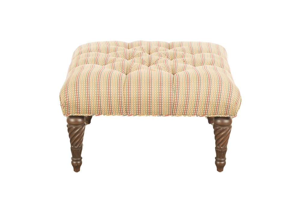 Neoclassical Style Footstool