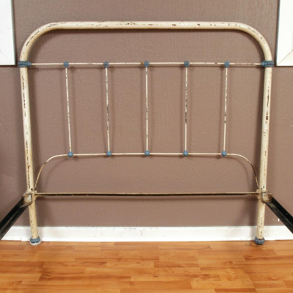 Vintage Metal Full Size Bed Frame