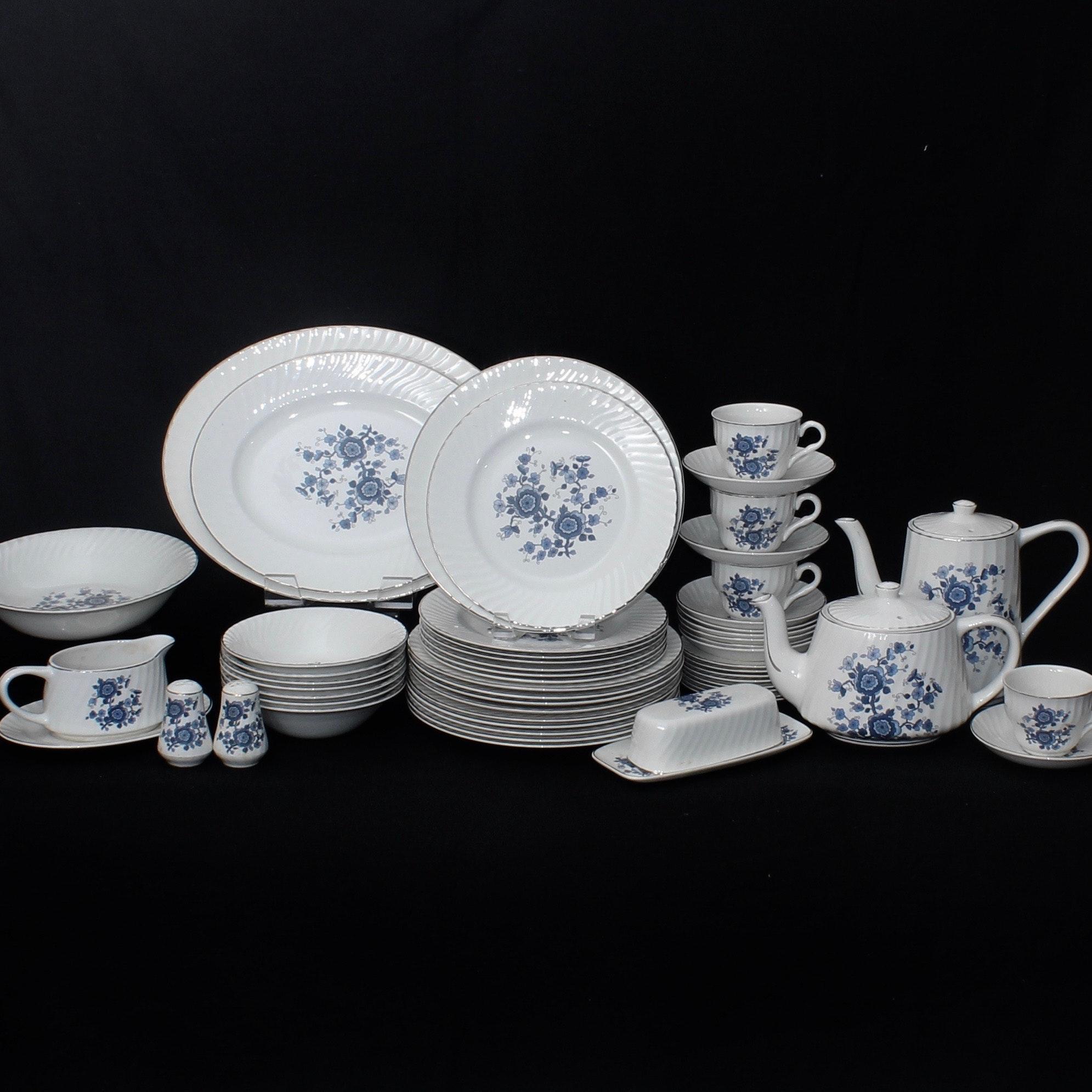 Royal Blue Wedgwood Ironstone China