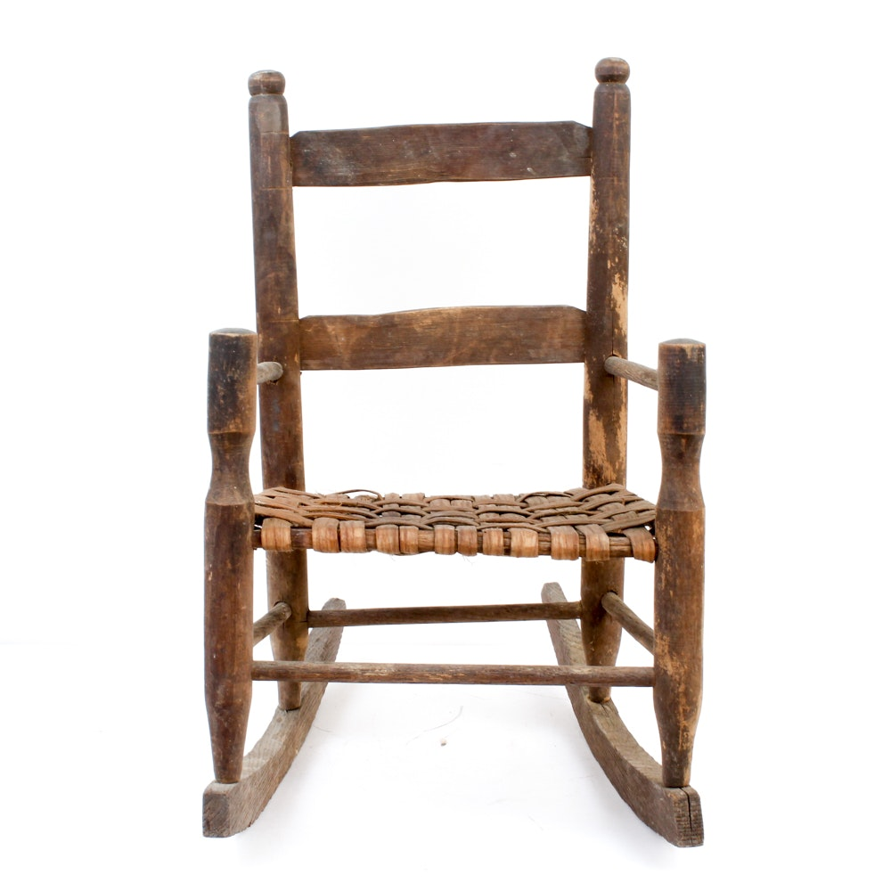 Children's Antique Rocking Chair