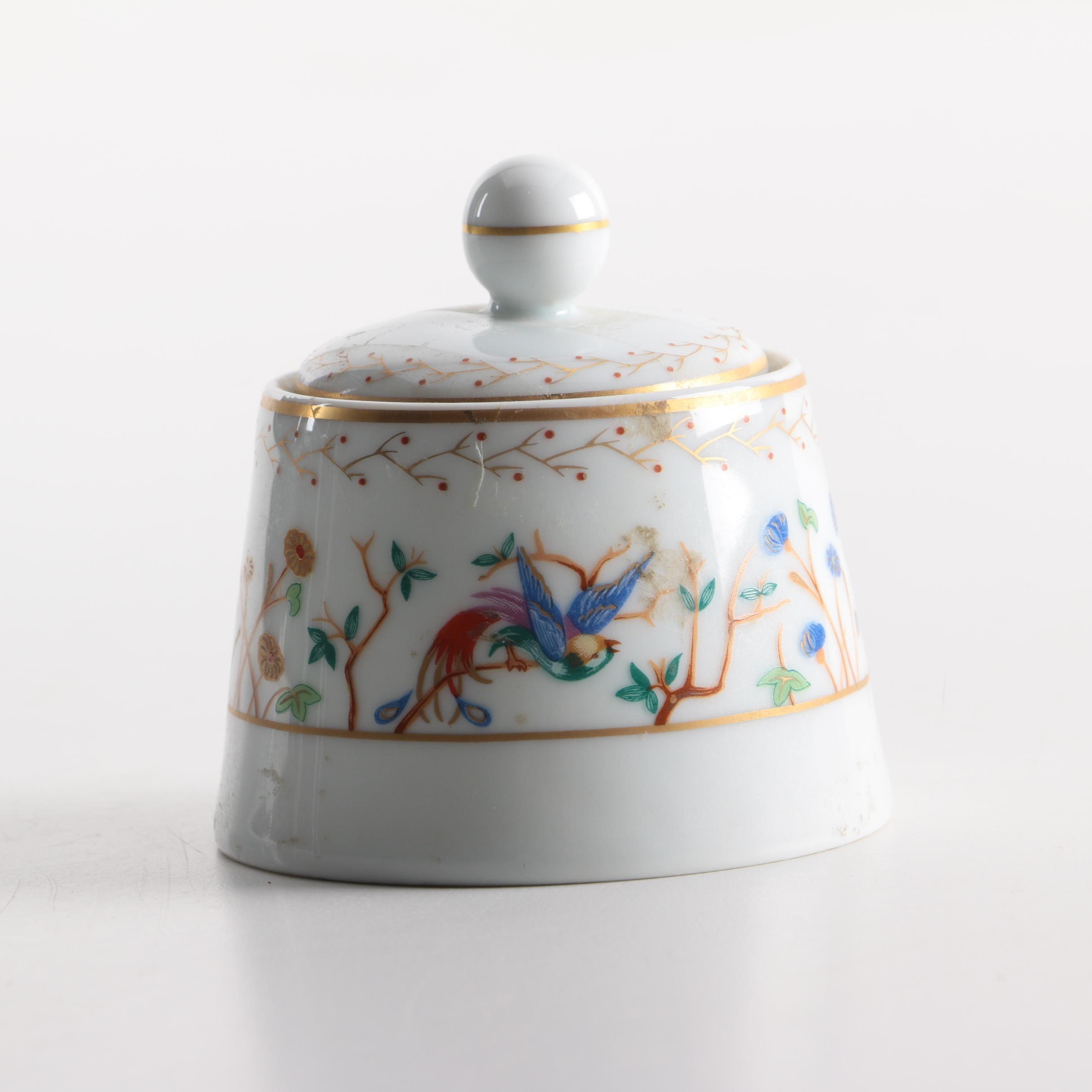 Audubon and Tiffany & Co. Limoges Jar