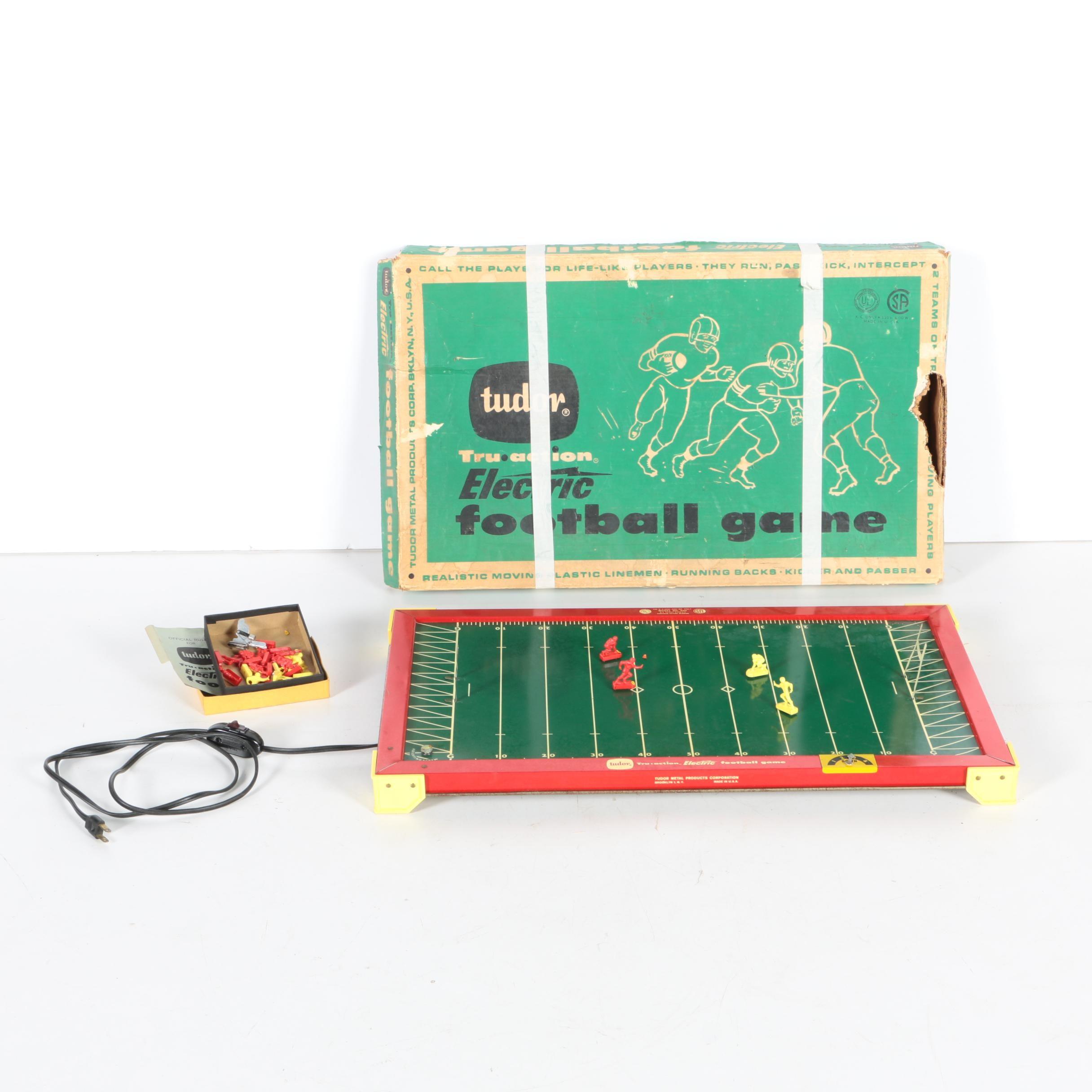 1950s-Era Tudor Tru-Action Electric Football Game
