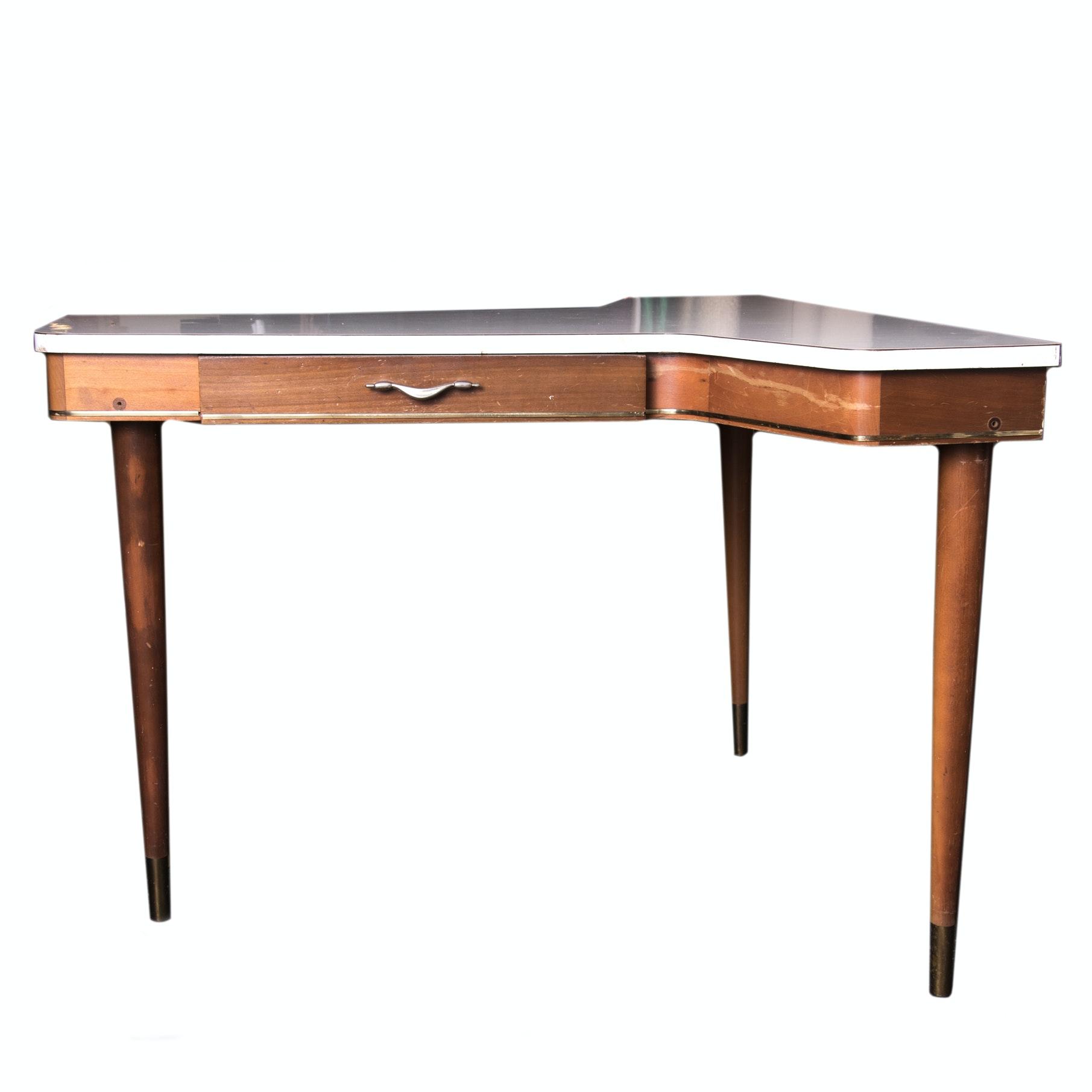 Mid Century Modern Corner Desk