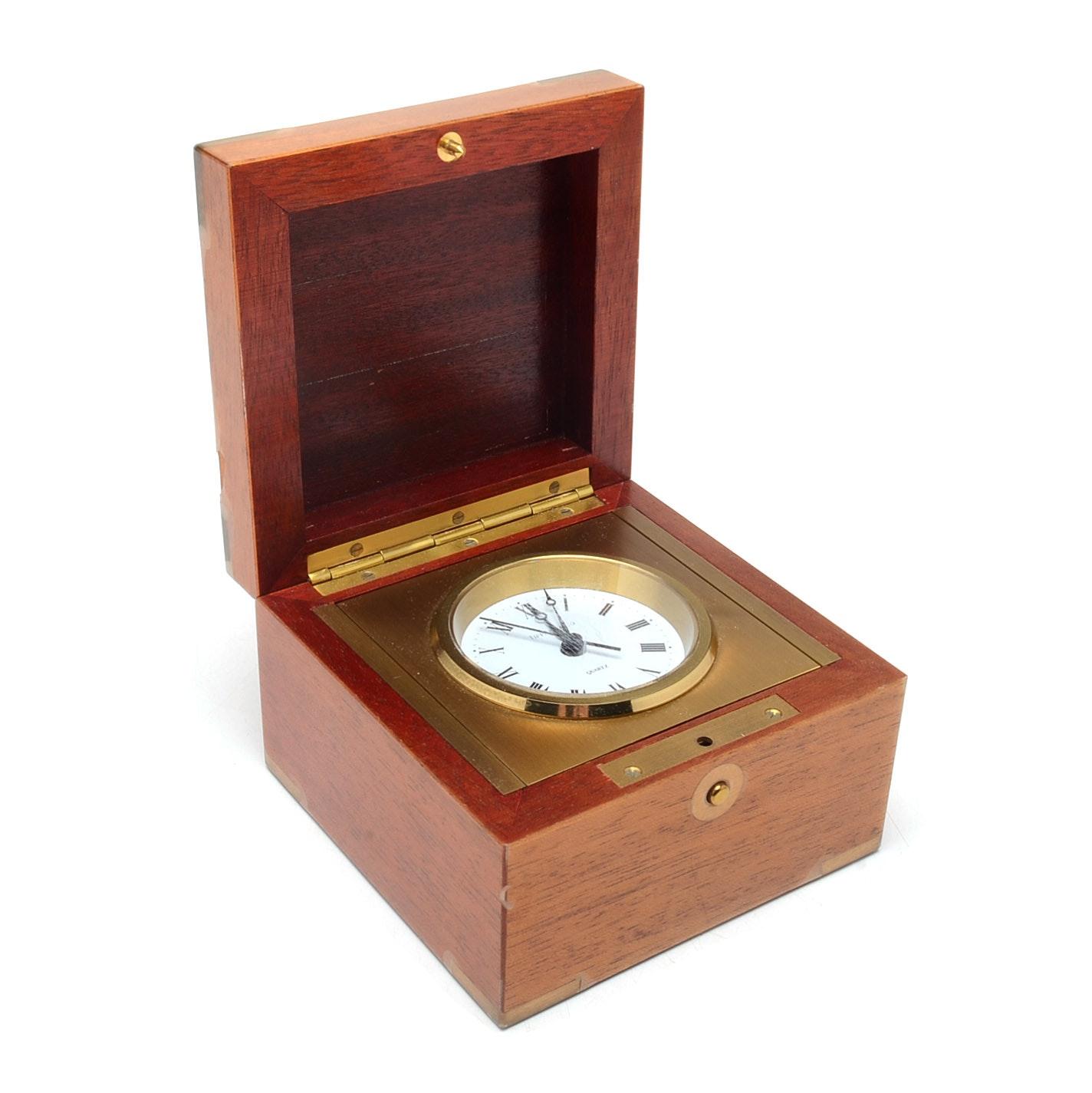 Tiffany & Co. Swing Desk Clock