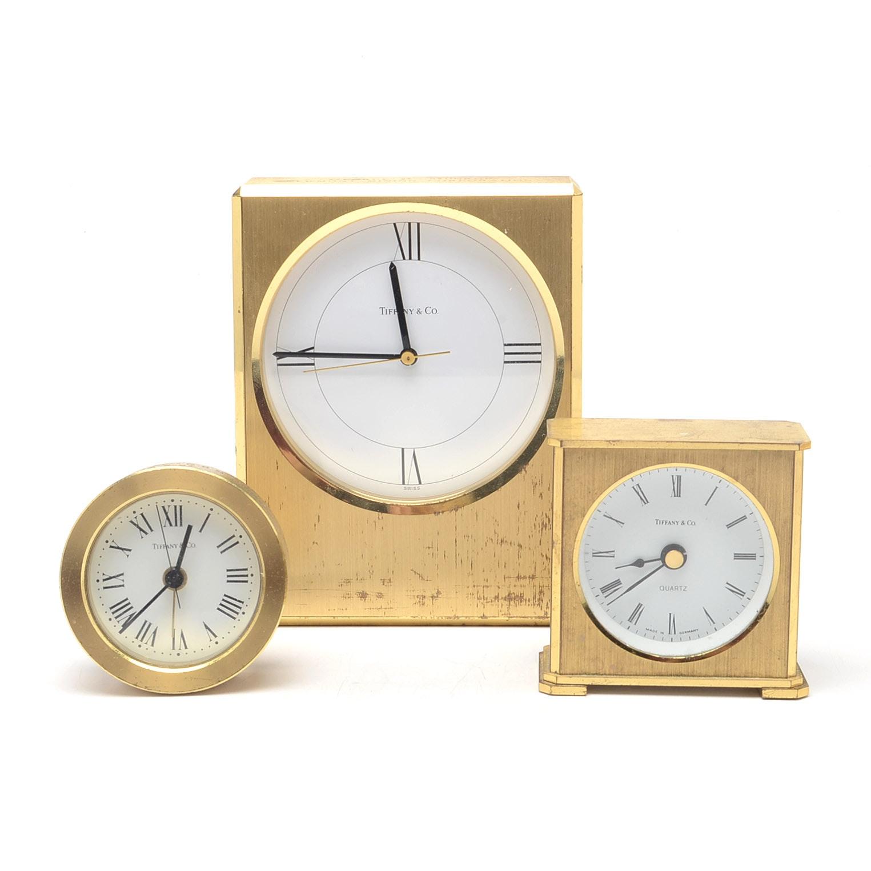 Tiffany & Co. Presentation Clocks