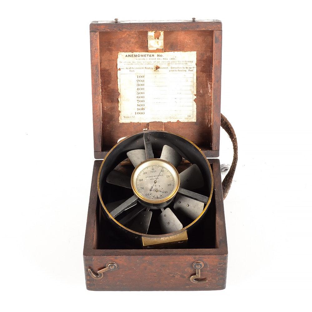 Vintage Keuffel & Esser Co. Anemometer