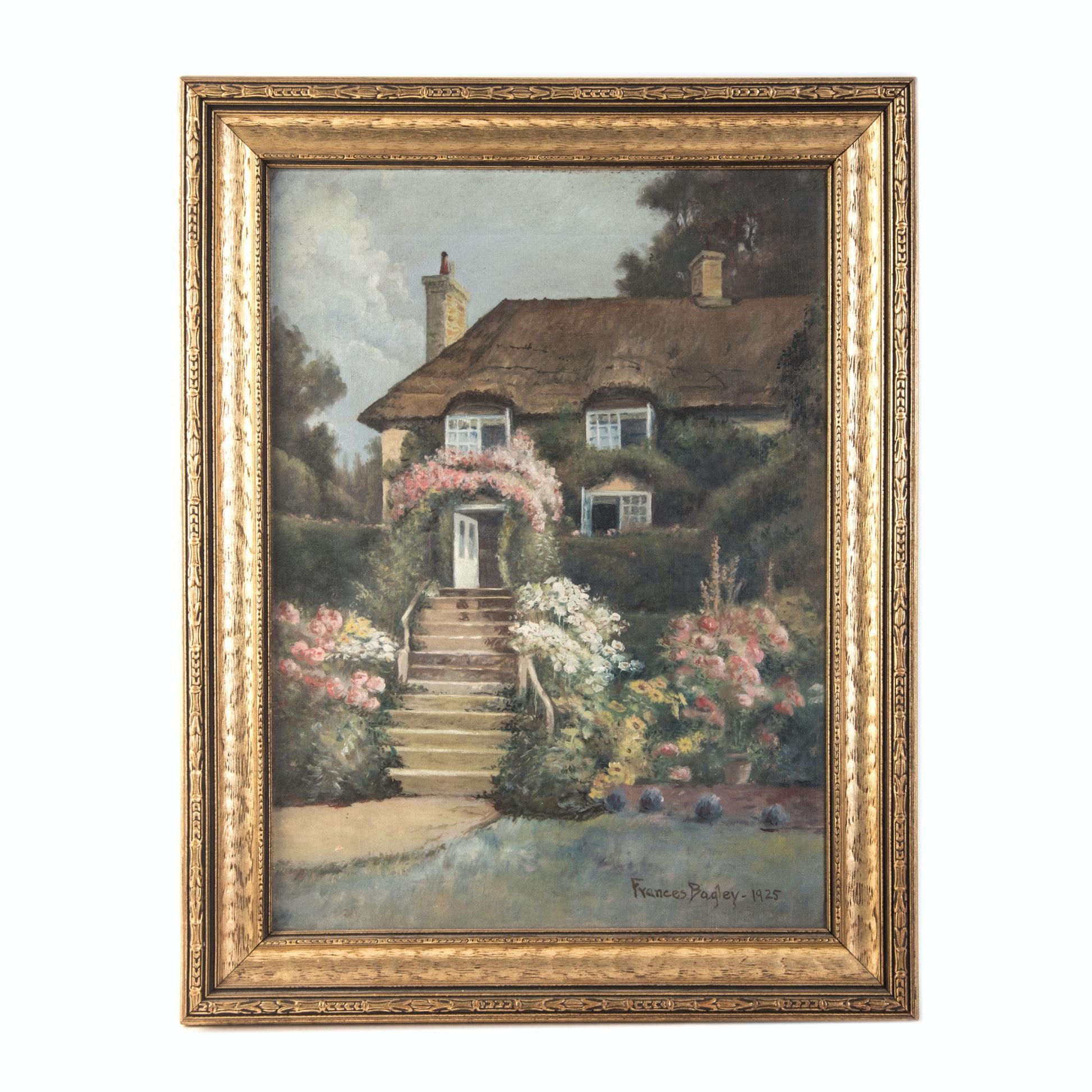 Frances Bagley Original Oil on Canvas