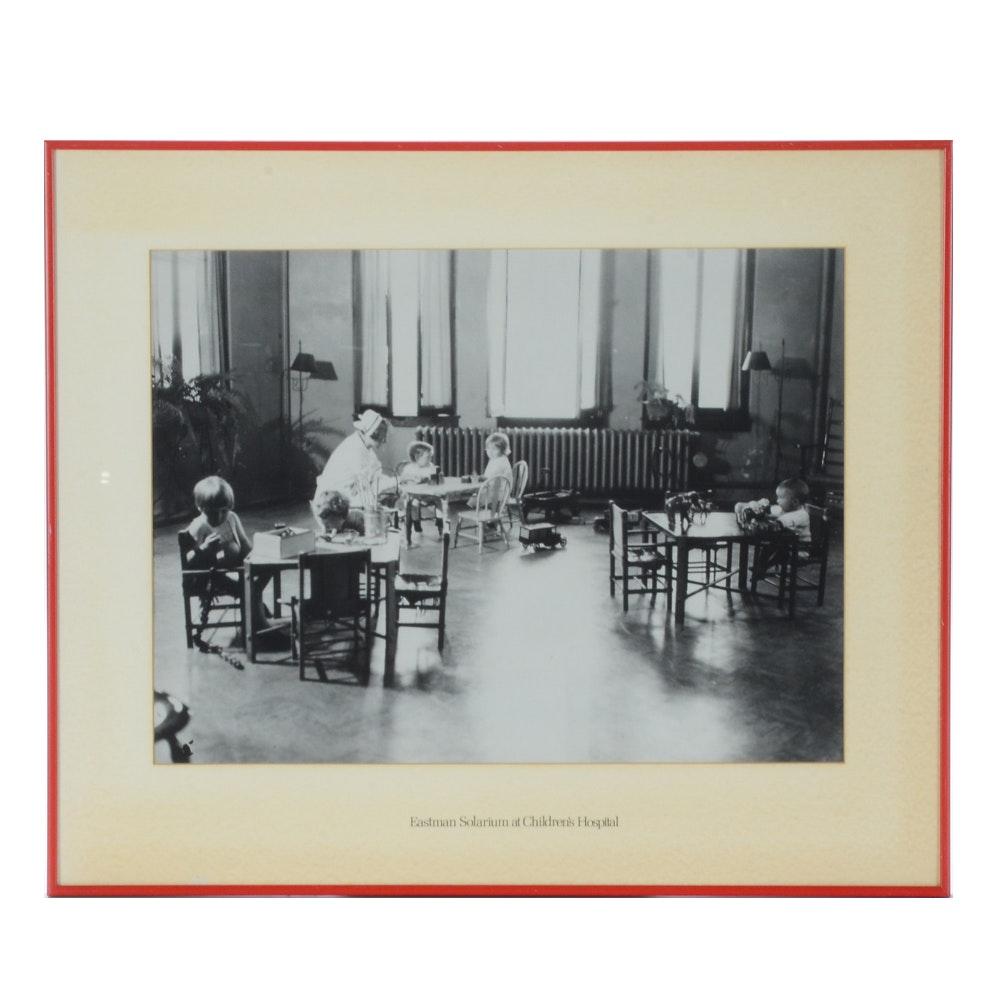 Photograph of Eastman Solarium at Cincinnati Children's Hospital Medical Center