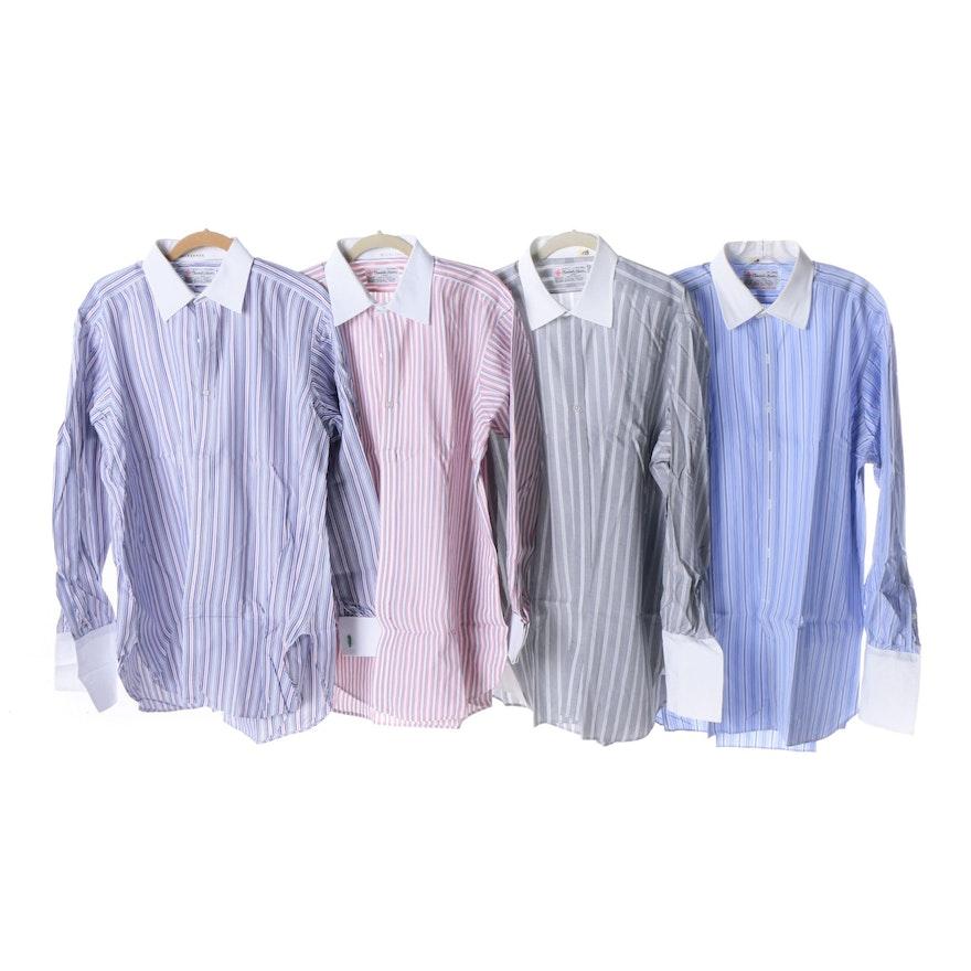 Men\'s Turnbull & Asser Button-Front Cotton Dress Shirts : EBTH