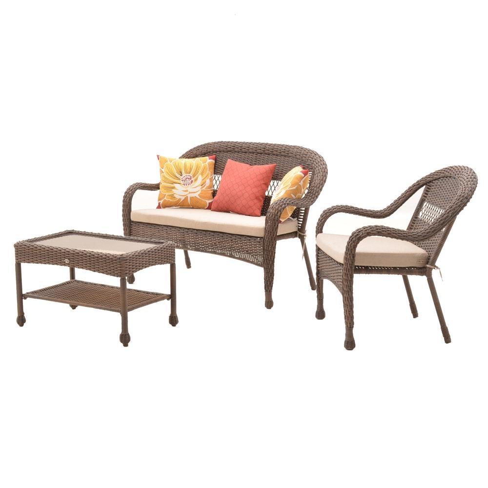 Hampton Bay Resin Wicker Outdoor Furniture