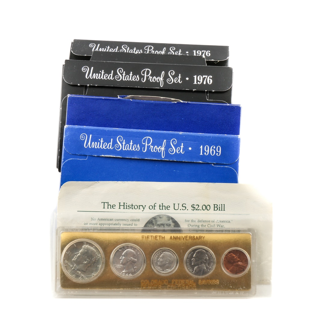 United States Proof Sets, Silver Certificates and More