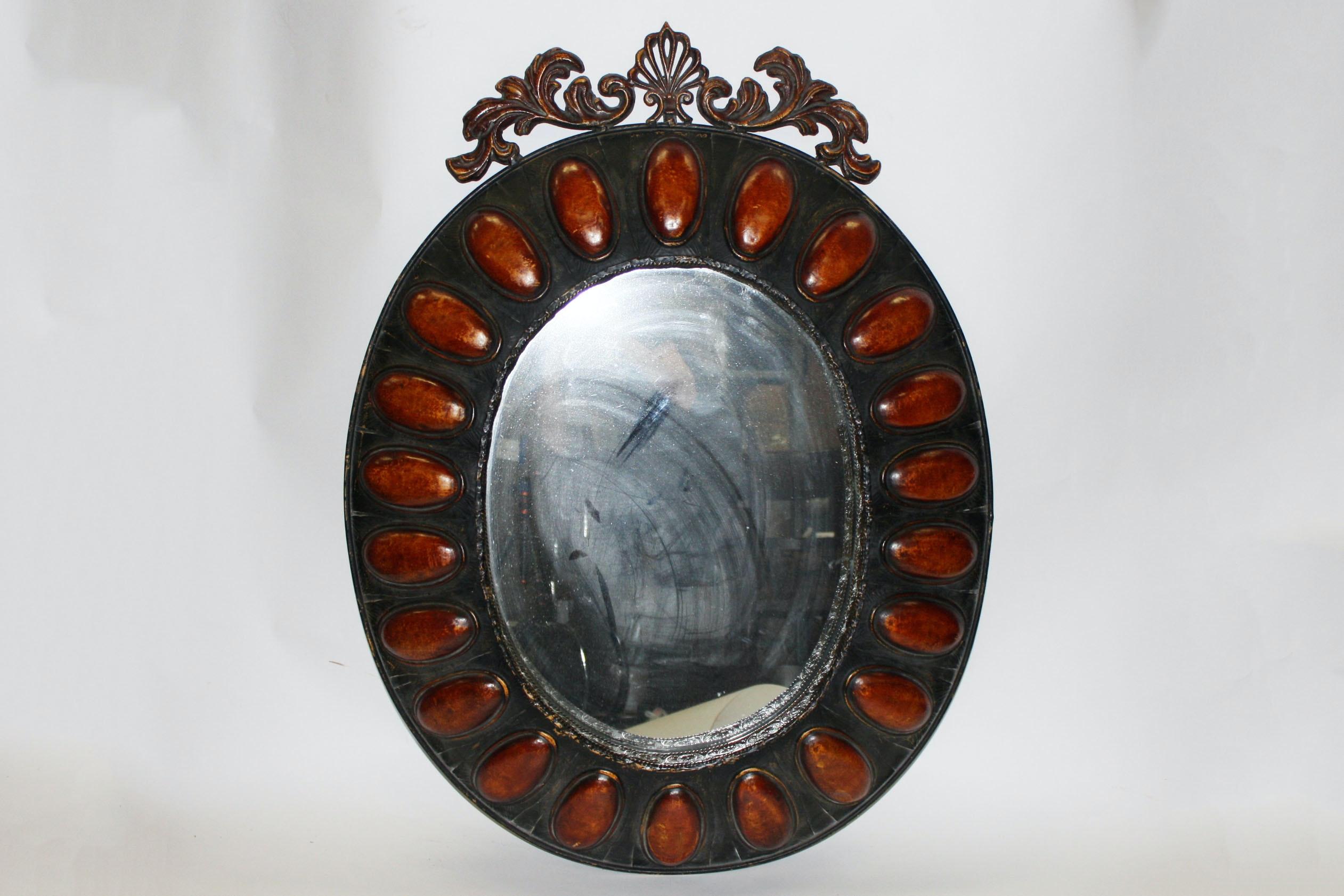 Decorative Oval Wall Mirror